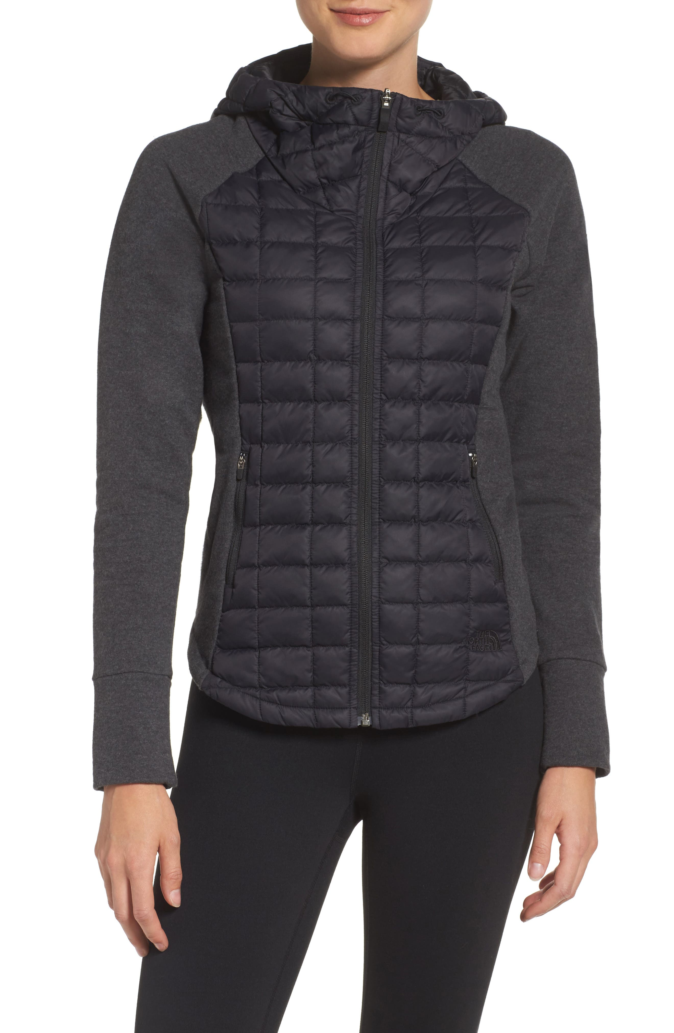 'Endeavor' ThermoBall PrimaLoft<sup>®</sup> Quilted Jacket,                             Alternate thumbnail 2, color,                             001