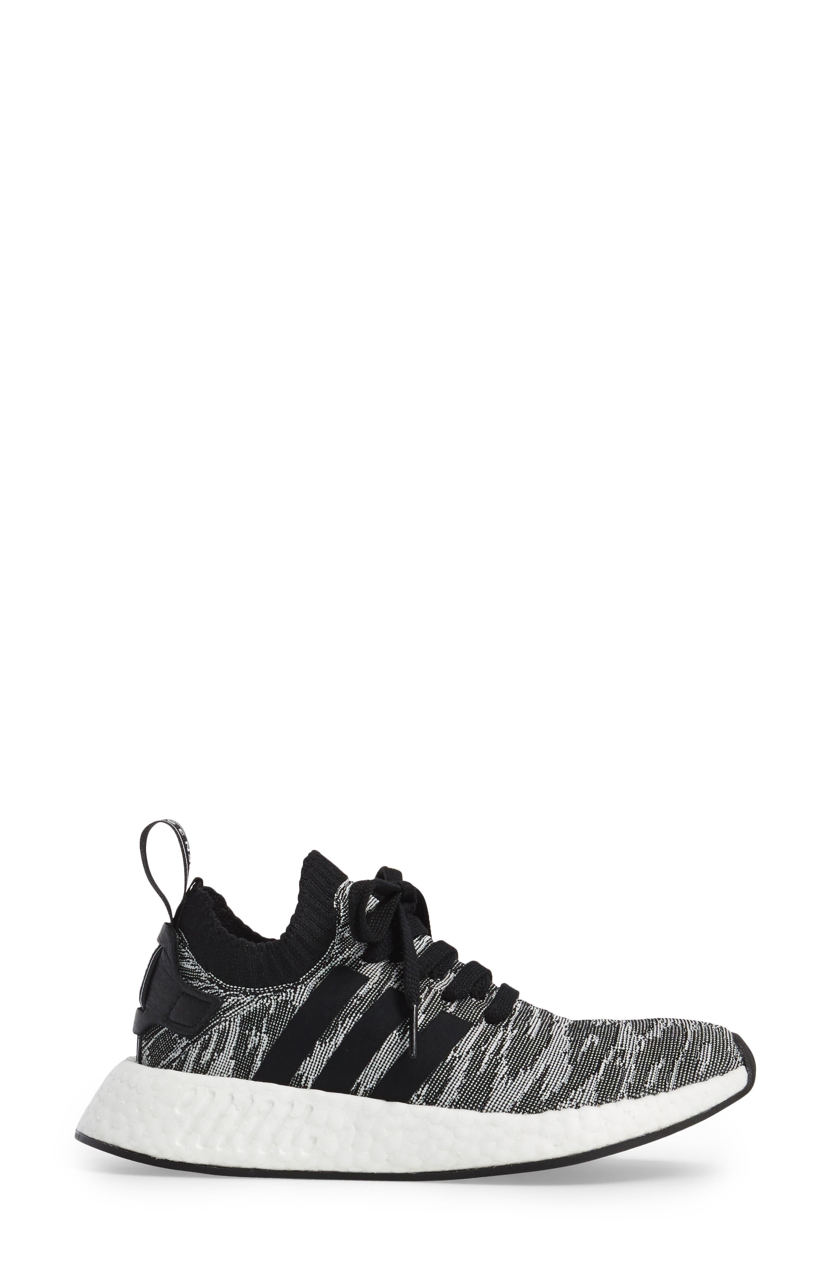 NMD R2 Primeknit Athletic Shoe,                             Alternate thumbnail 12, color,