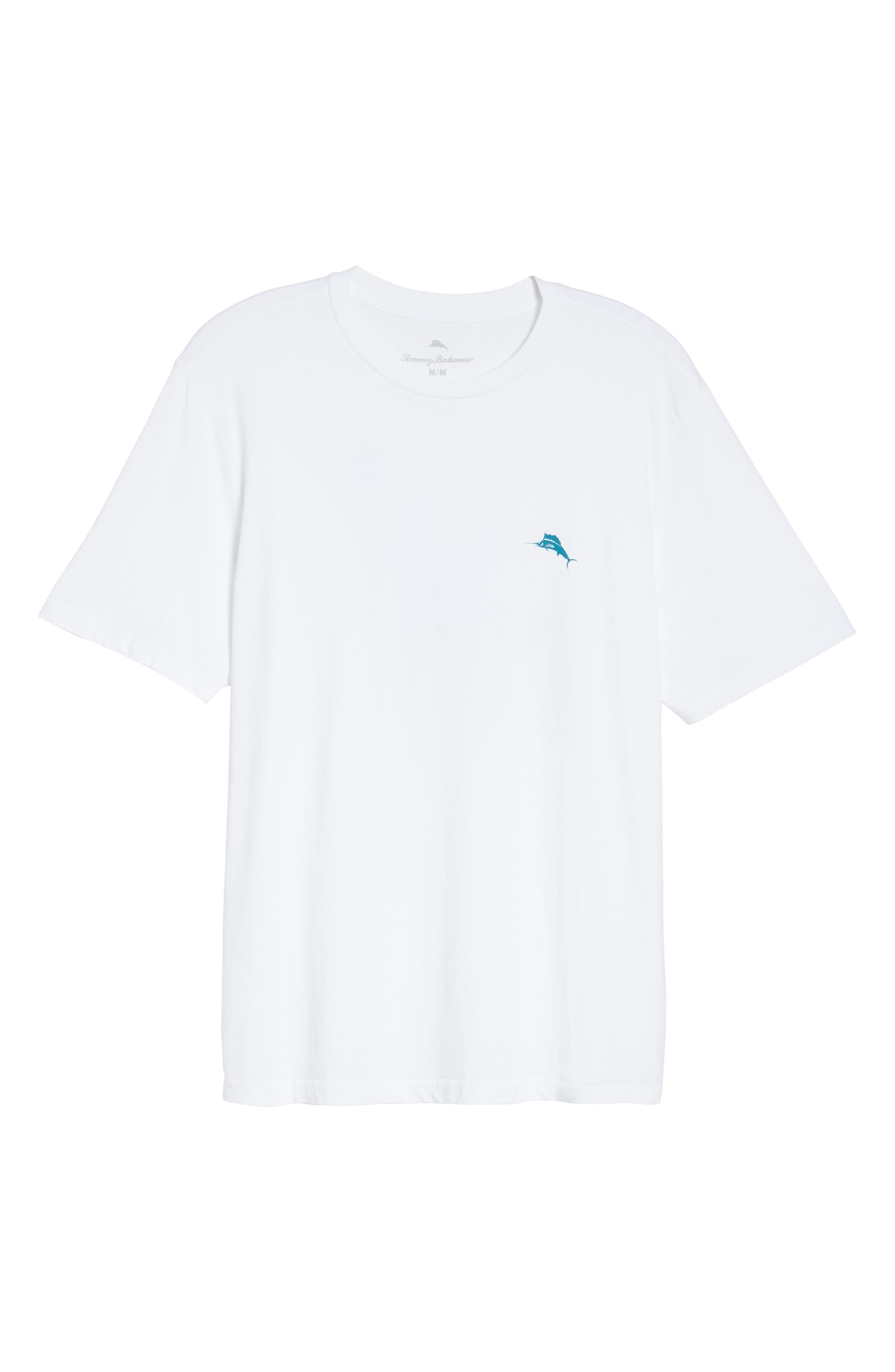 Parrot Pair T-Shirt,                             Alternate thumbnail 6, color,                             WHITE