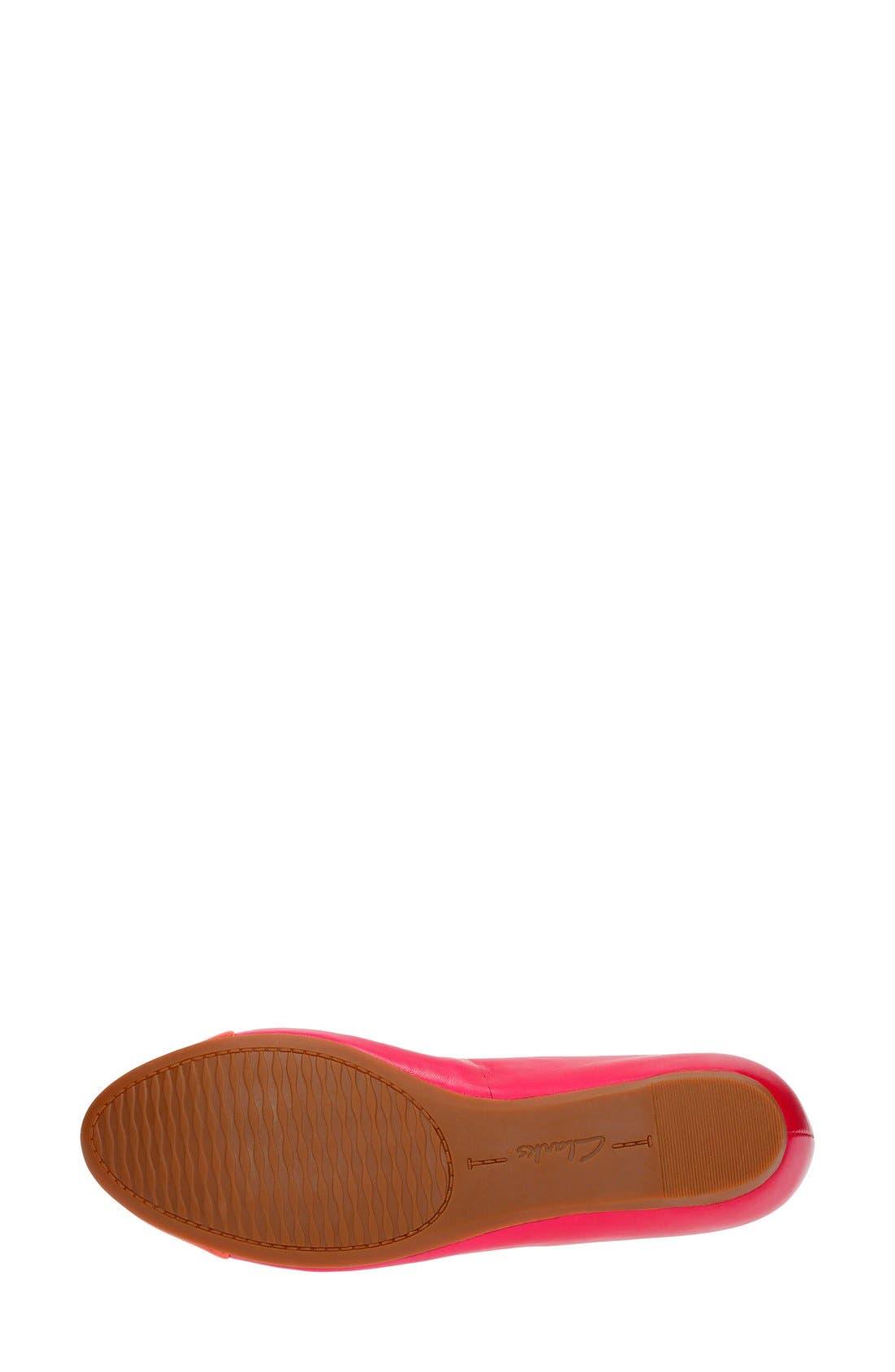 'Alitay Susan' Cap Toe Flat,                             Alternate thumbnail 23, color,