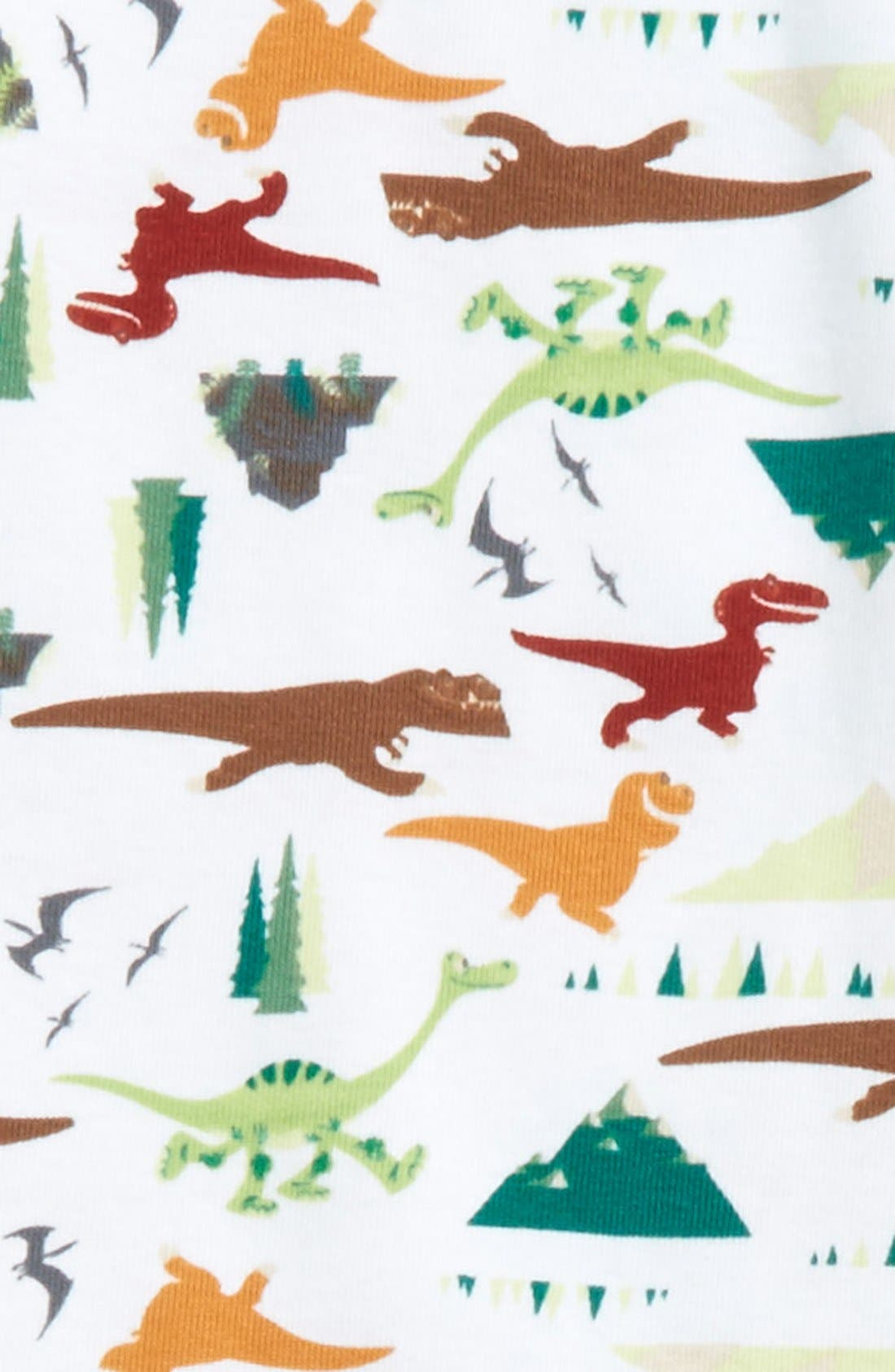 'Disney<sup>®</sup> - The Good Dinosaur' Organic Cotton Two-Piece Fitted Pajamas,                             Alternate thumbnail 2, color,                             311