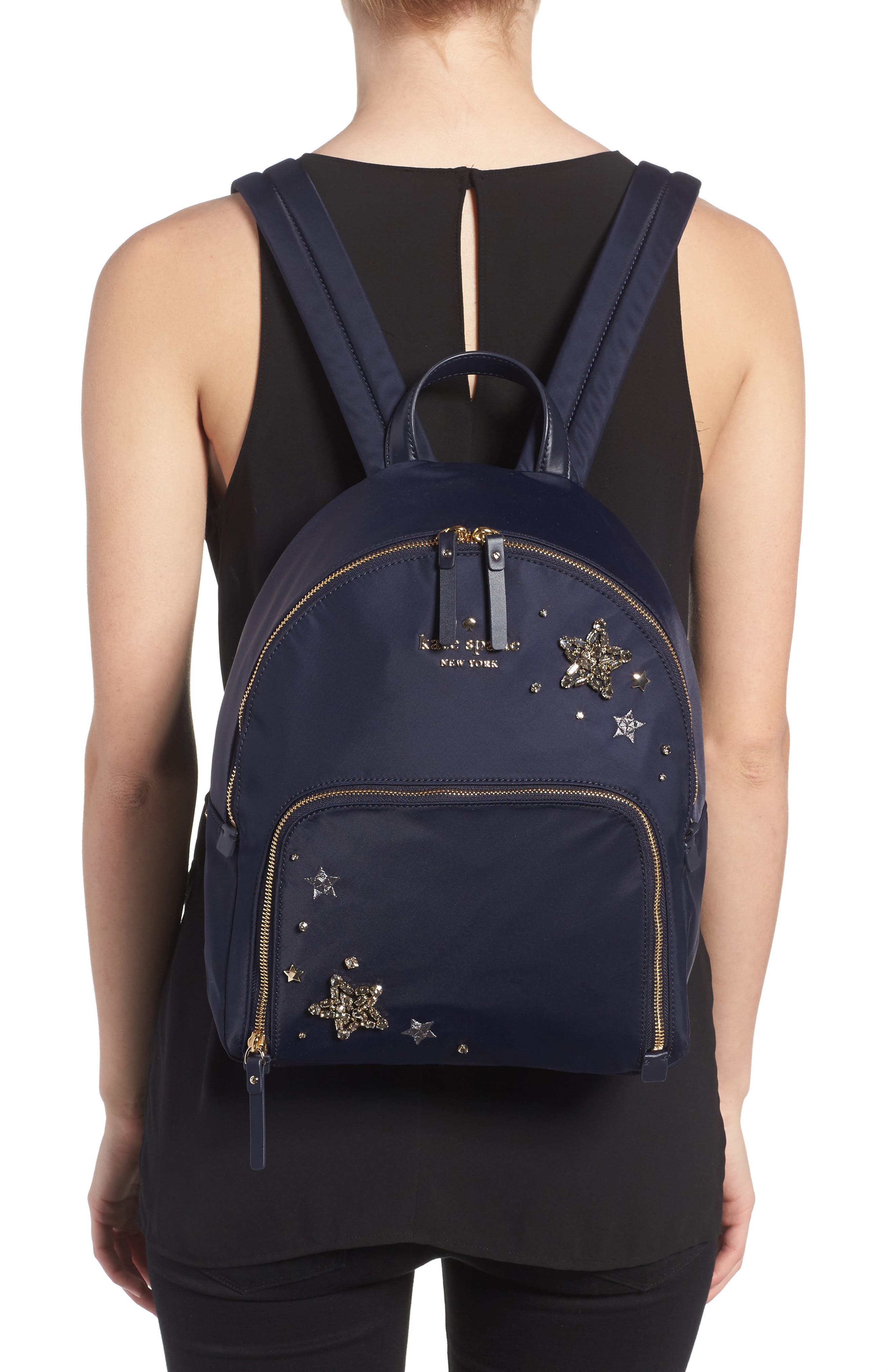 watson lane - hartley embellished nylon backpack,                             Alternate thumbnail 2, color,