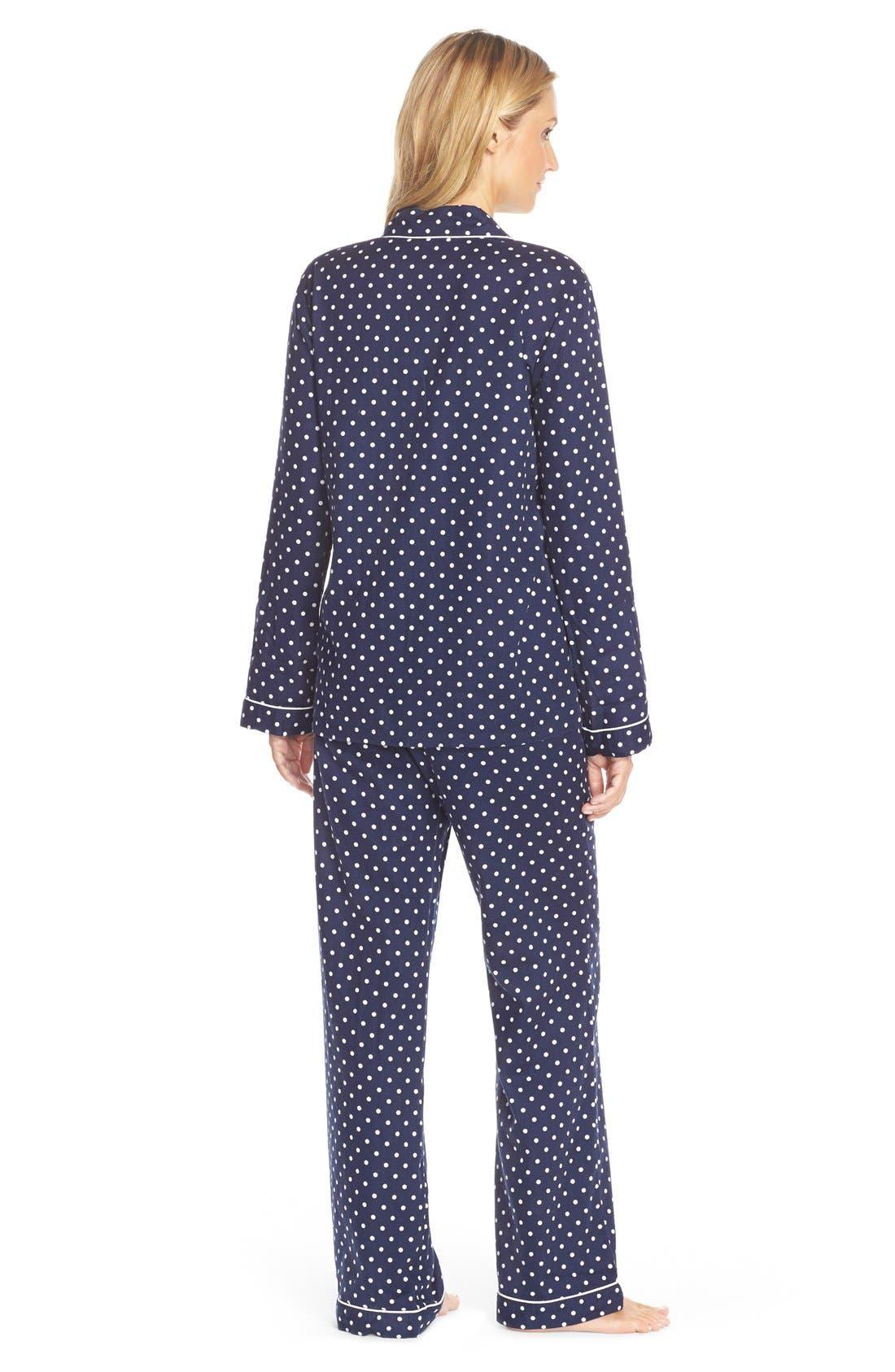 Cotton Twill Pajamas,                             Alternate thumbnail 15, color,