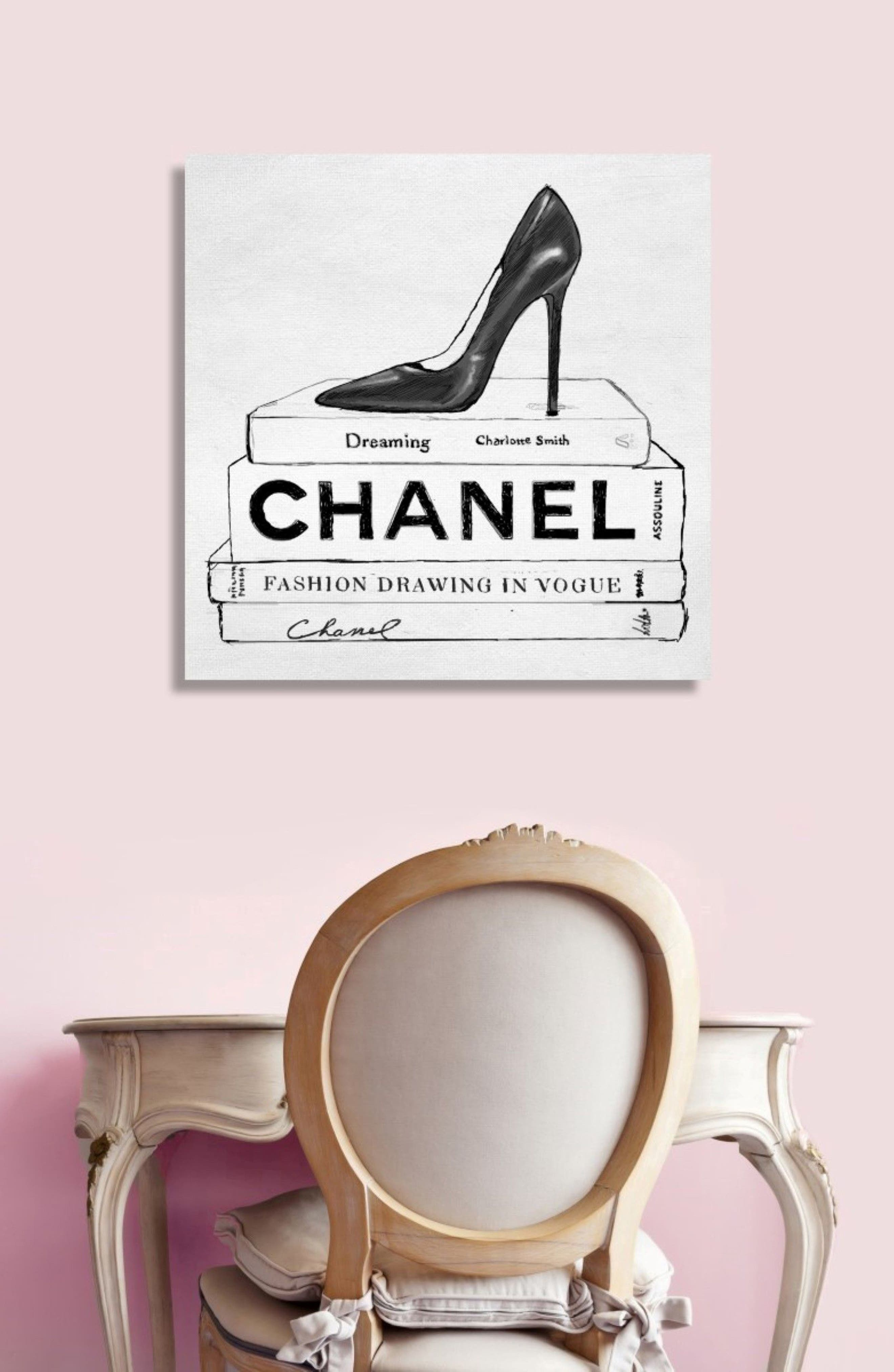 Simplicity in Fashion Canvas Wall Art,                             Alternate thumbnail 2, color,                             100