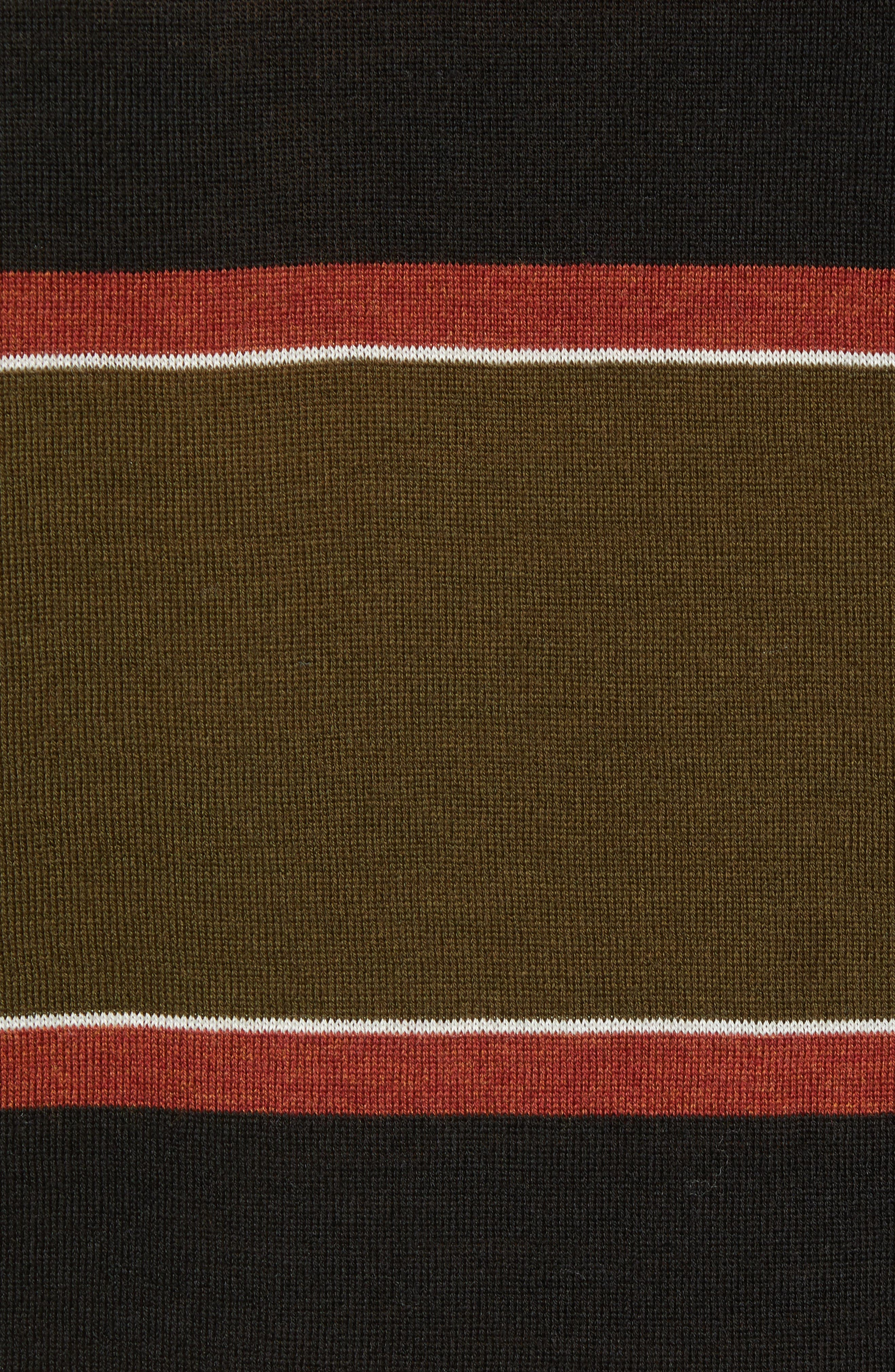 Stripe Merino Wool Pocket T-Shirt,                             Alternate thumbnail 5, color,                             COMBO B