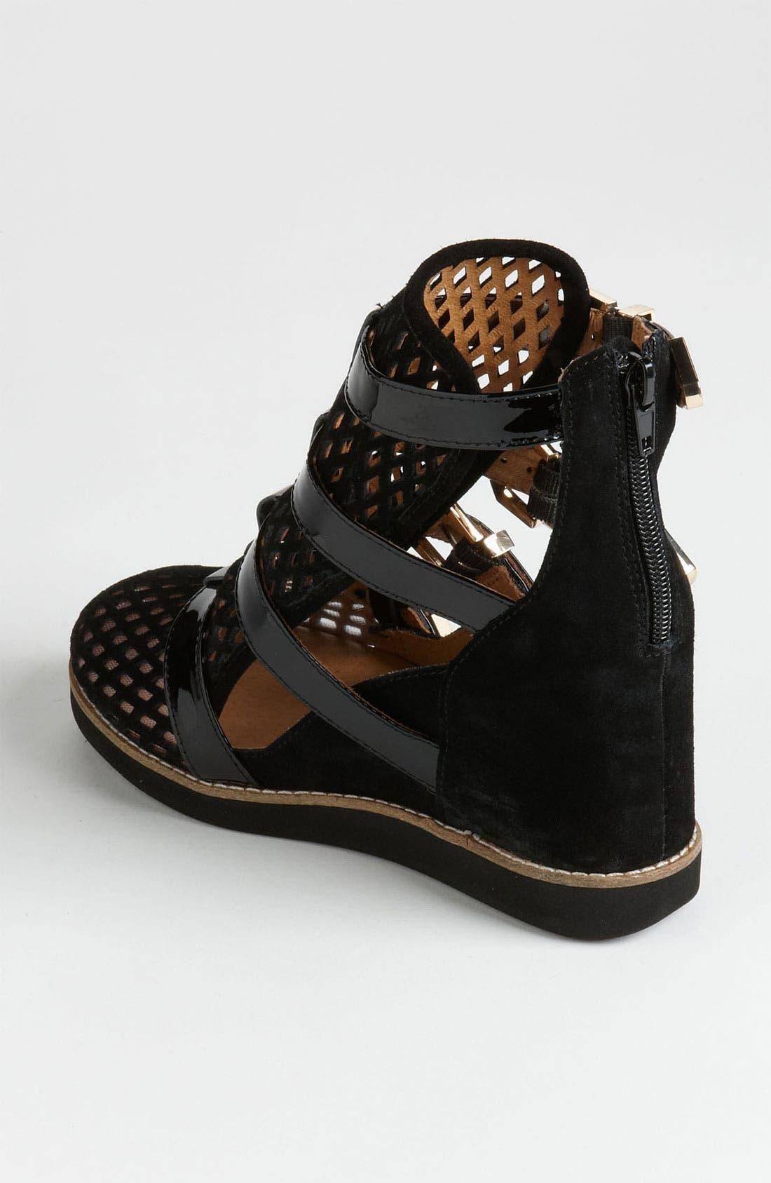 'Hipster' Sneaker,                             Alternate thumbnail 3, color,                             001