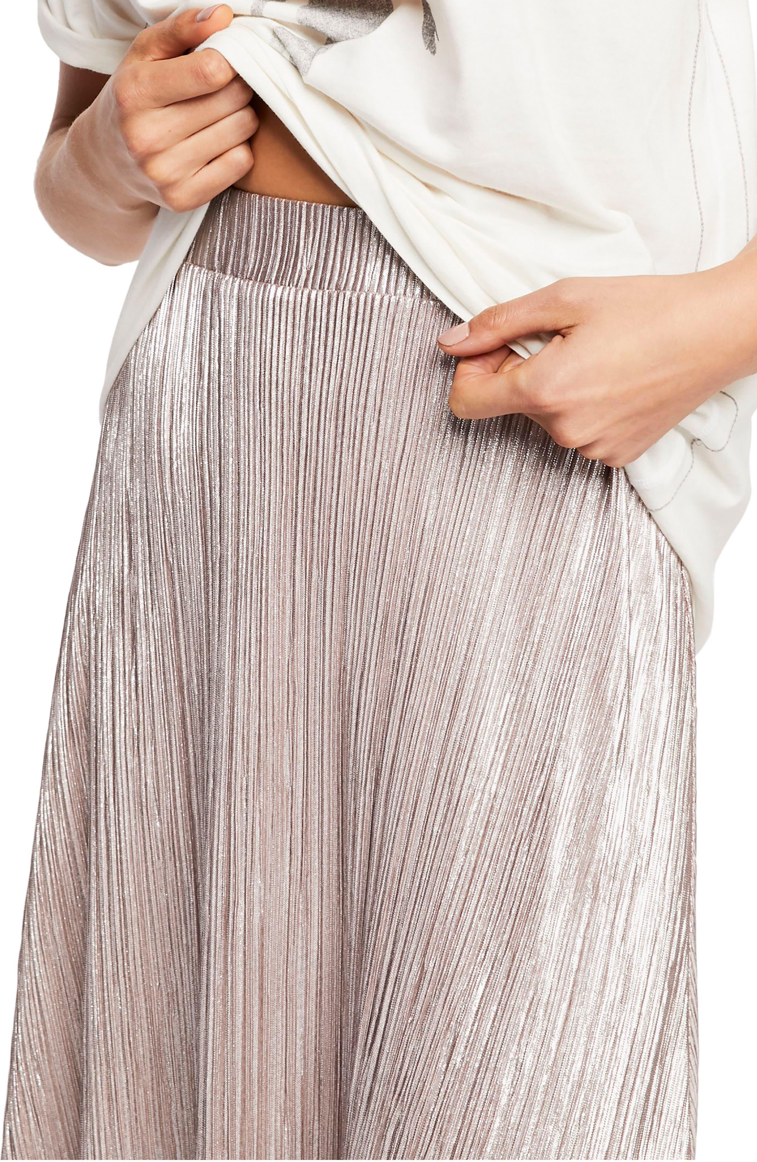 High Holiday Midi Skirt,                             Alternate thumbnail 3, color,                             040