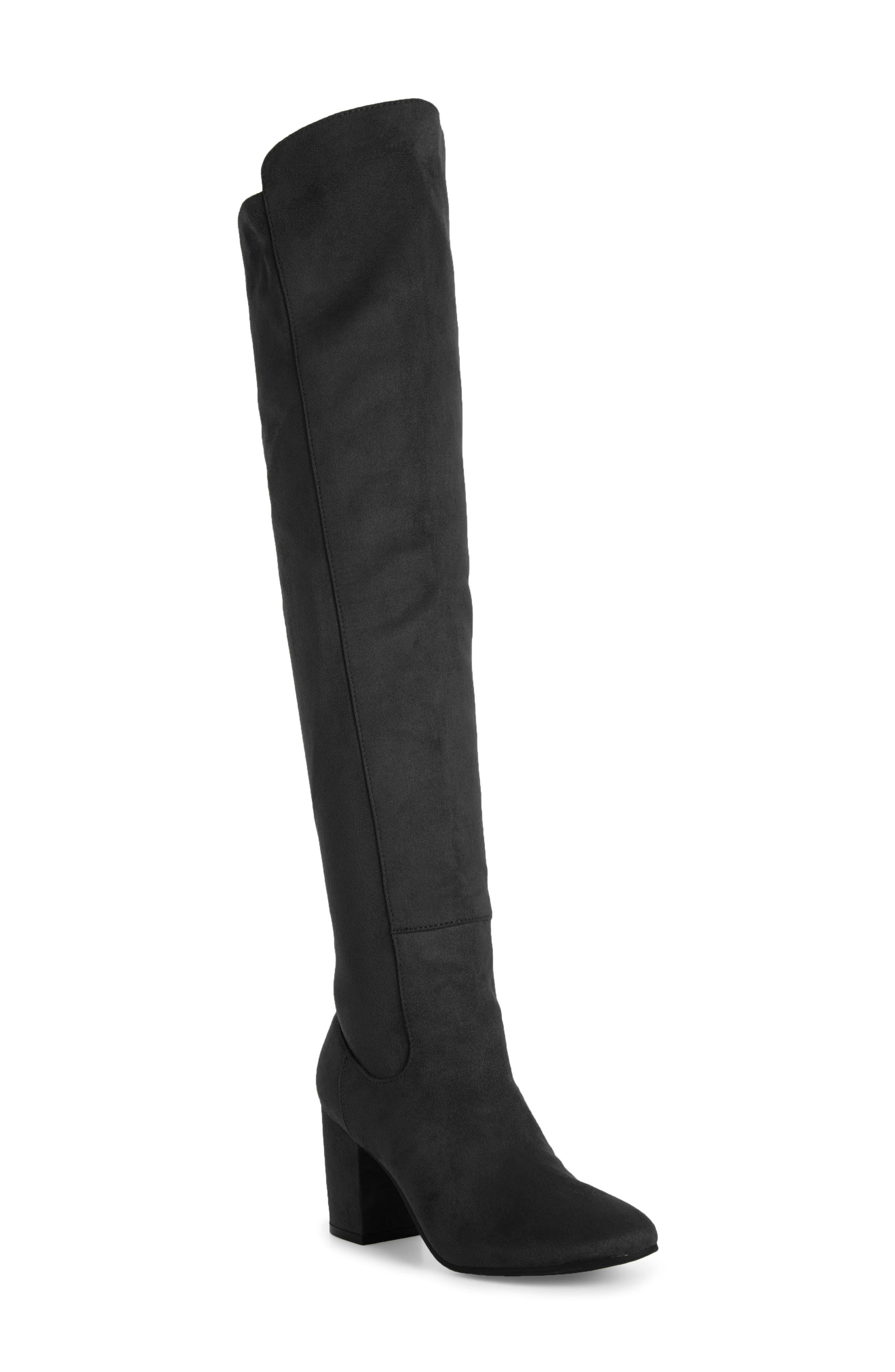 Lynx Stretch Over the Knee Boot,                             Main thumbnail 1, color,                             005