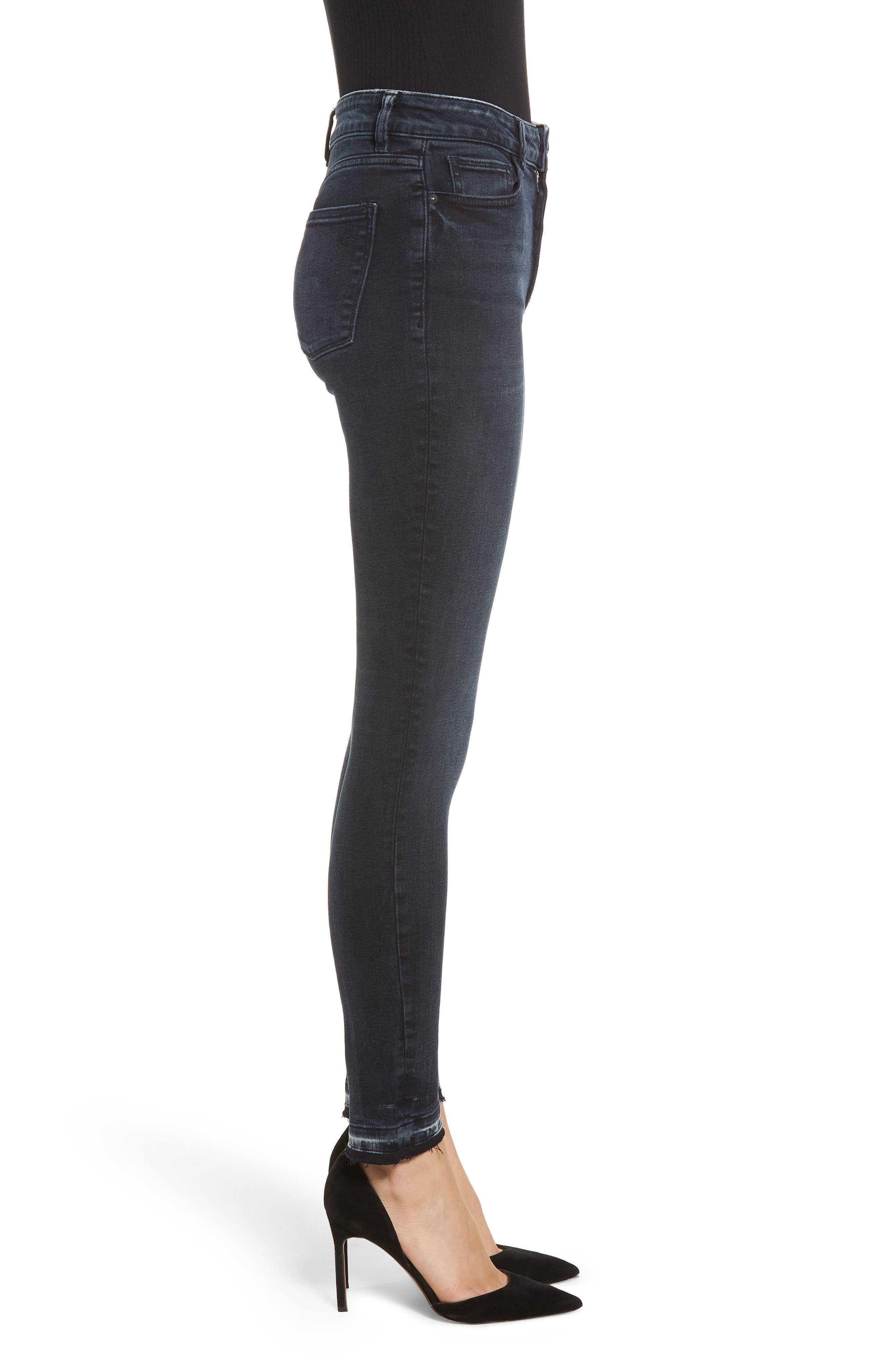 Farrow High Waist Skinny Jeans,                             Alternate thumbnail 3, color,                             425