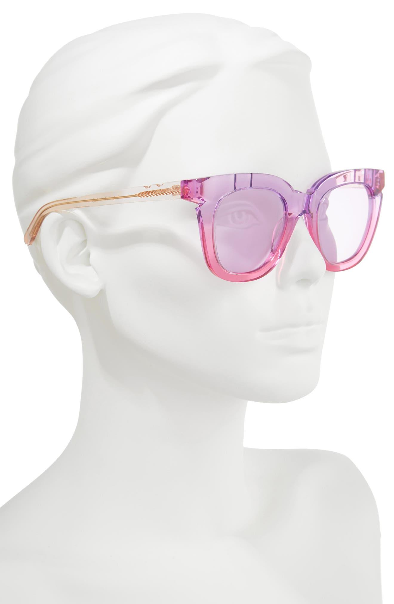Pools & Palms 50mm Sunglasses,                             Alternate thumbnail 2, color,                             650