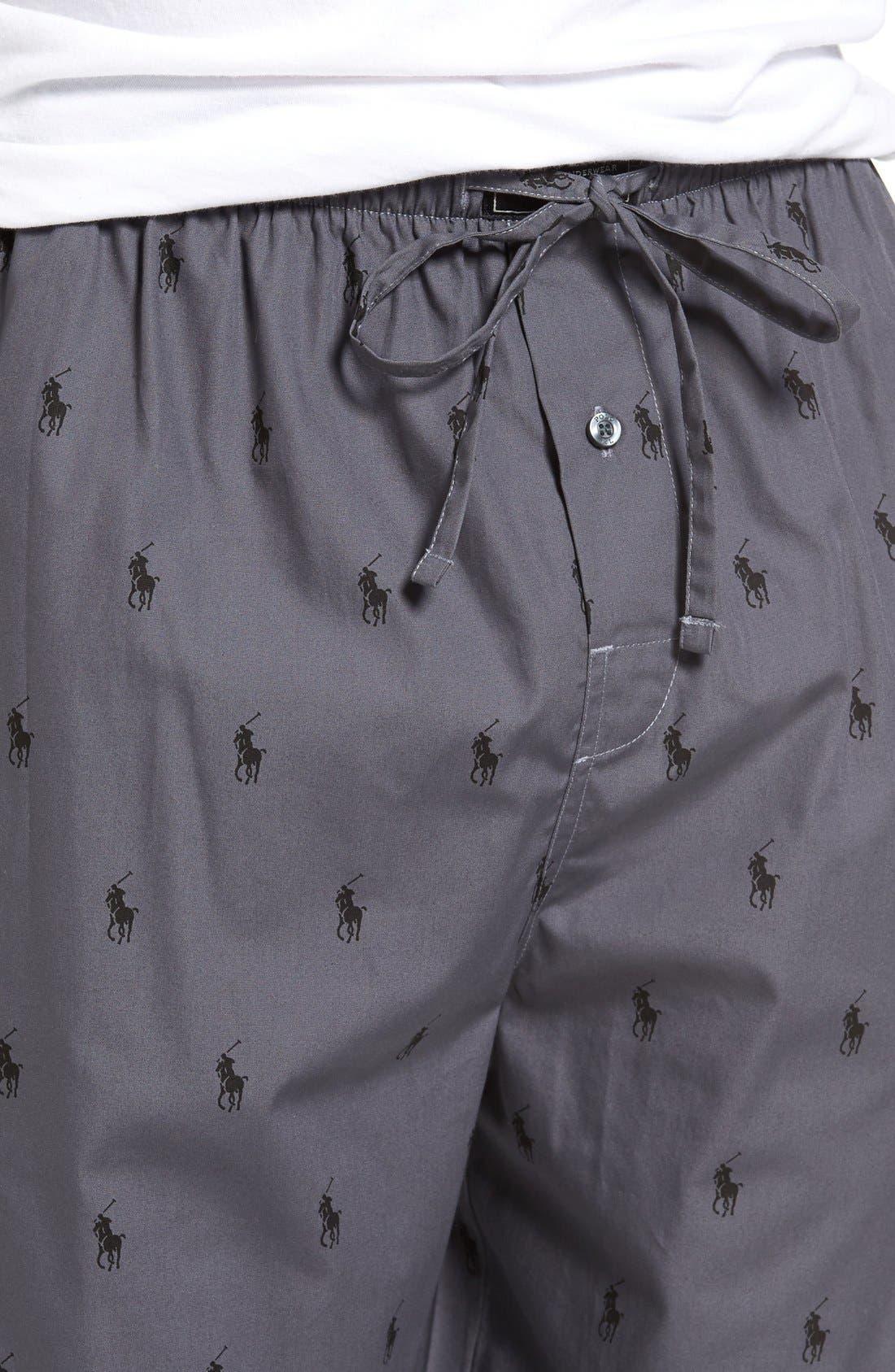 Cotton Lounge Pants,                             Alternate thumbnail 43, color,