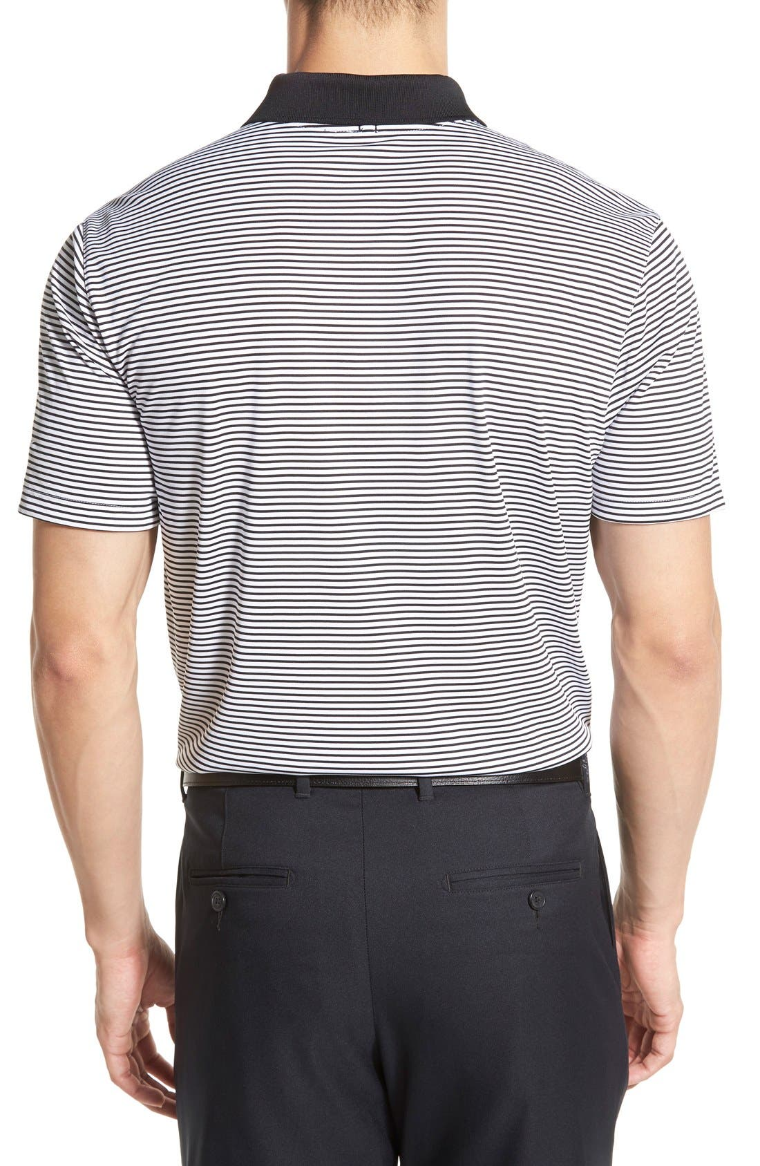 'Victory Stripe' Dri-FIT Golf Polo,                             Alternate thumbnail 23, color,