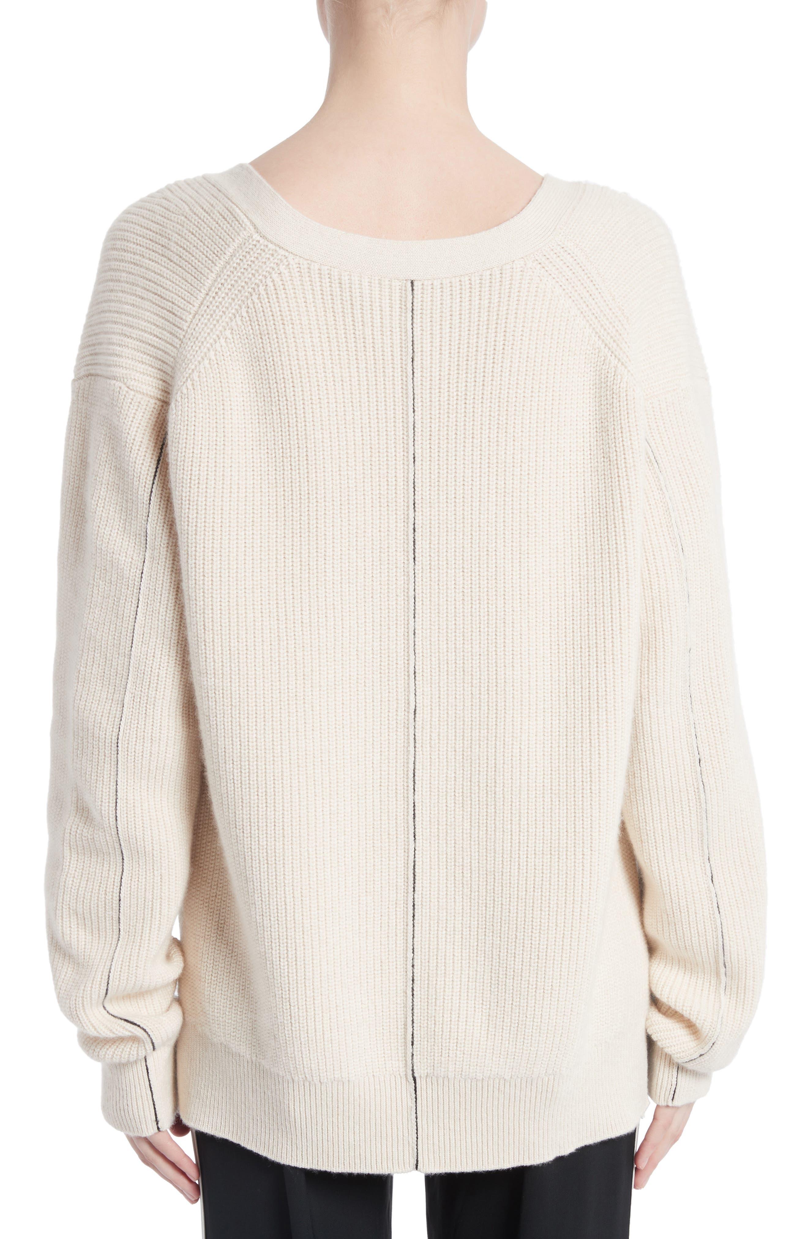 Cotton & Cashmere Cardigan,                             Alternate thumbnail 2, color,