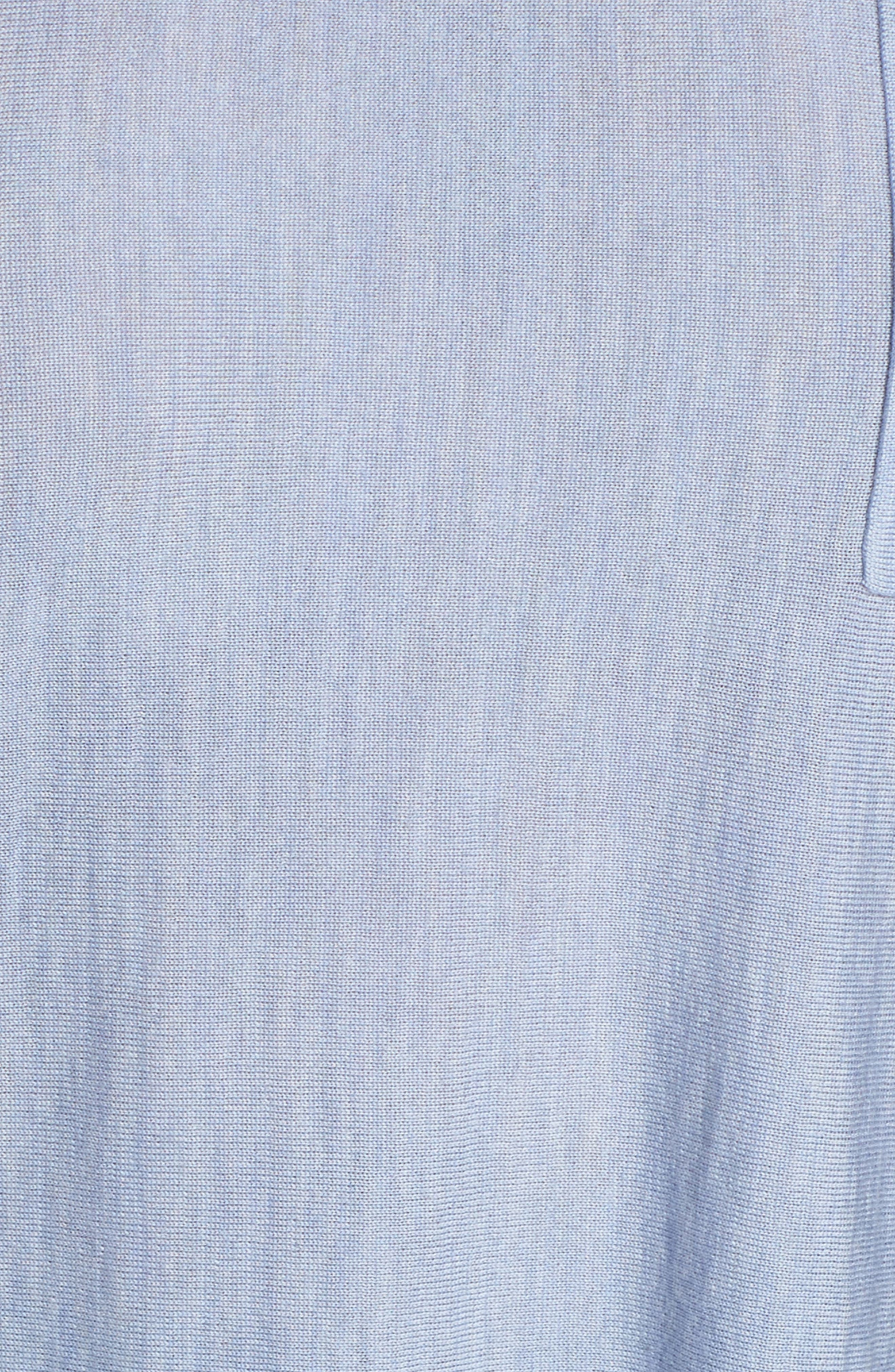 Round Neck Merino Sweater,                             Alternate thumbnail 5, color,                             401