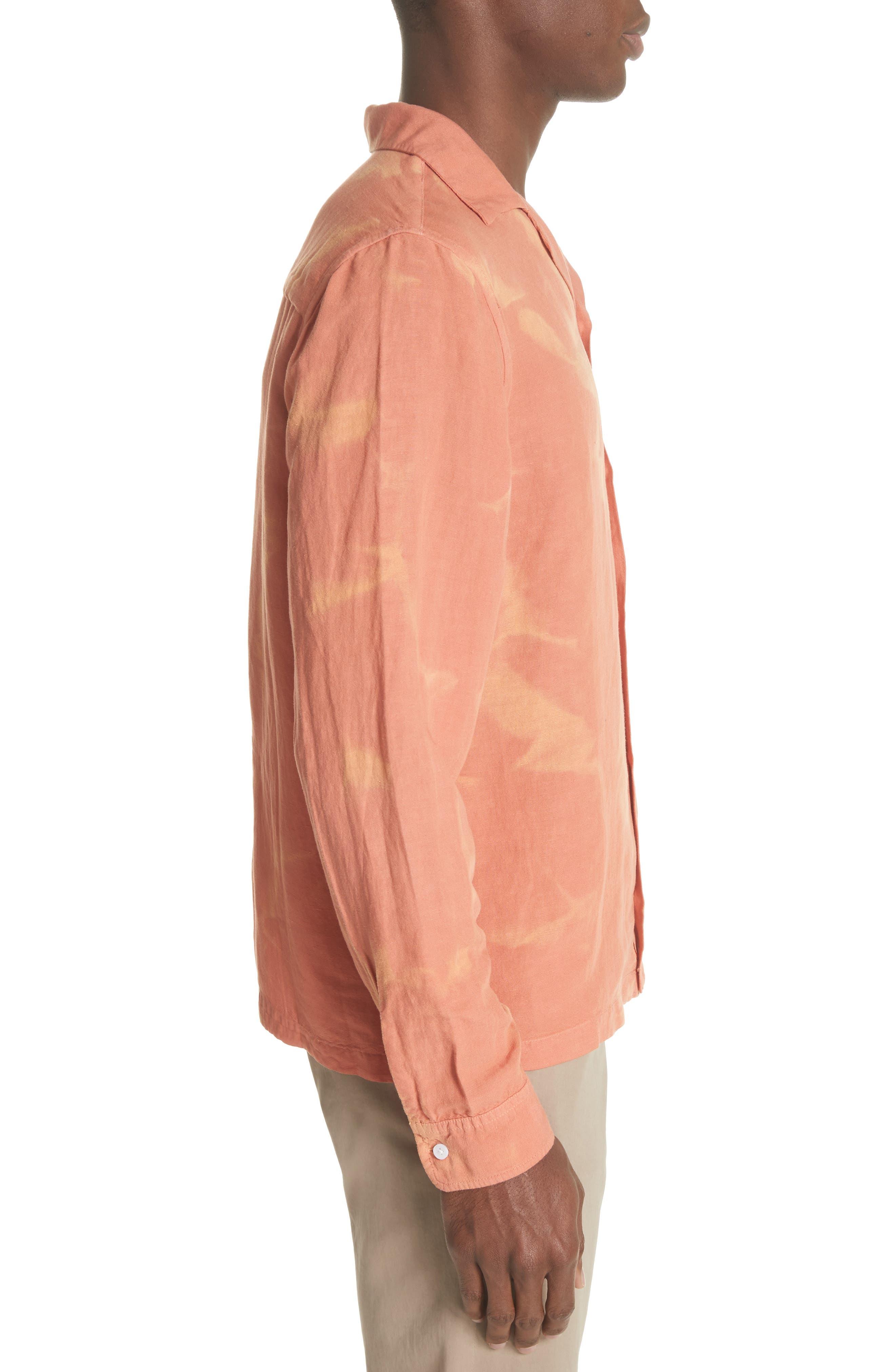 Canty Long Sleeve Camp Shirt,                             Alternate thumbnail 6, color,