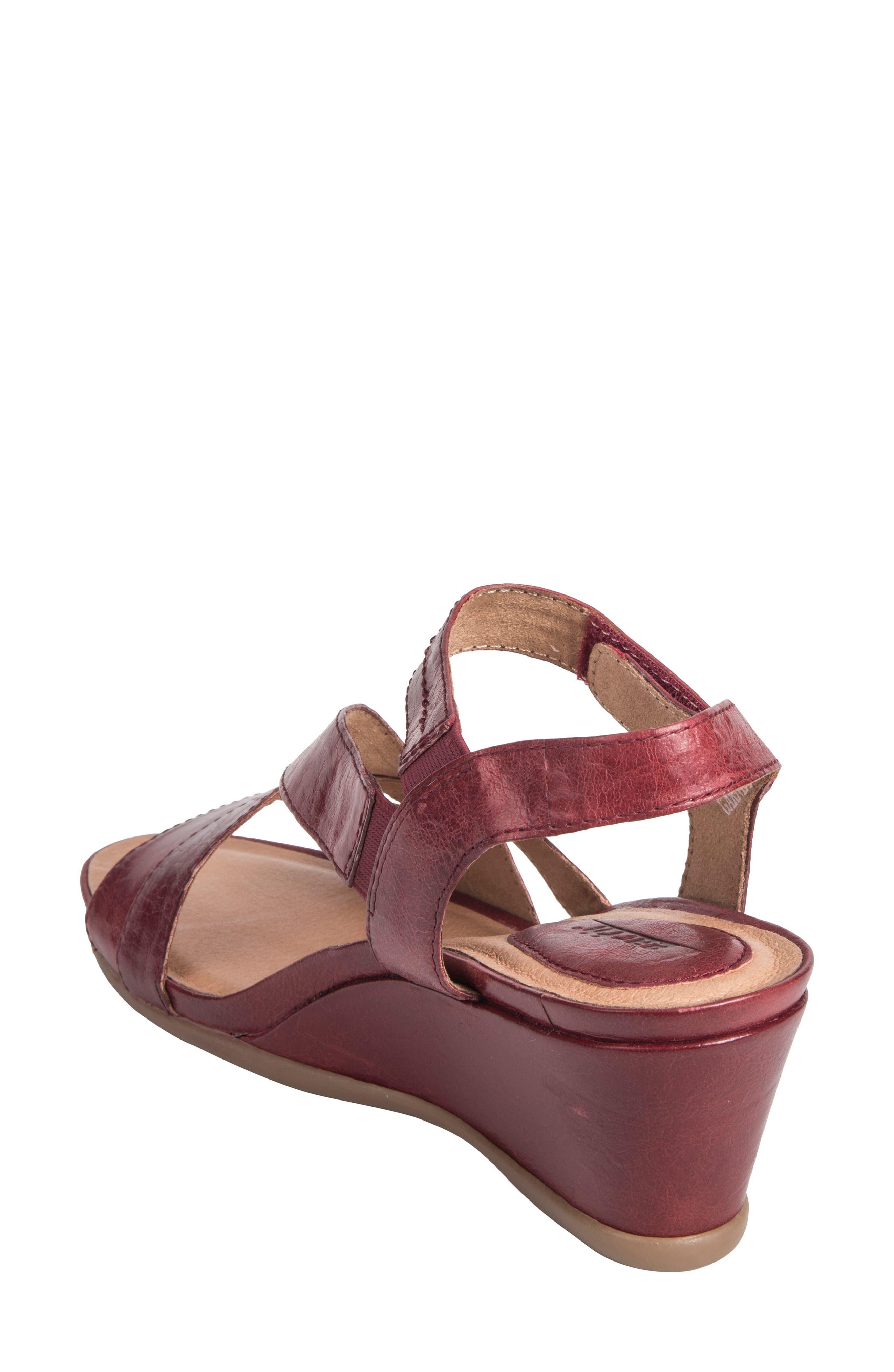 Thistle Wedge Sandal,                             Alternate thumbnail 7, color,