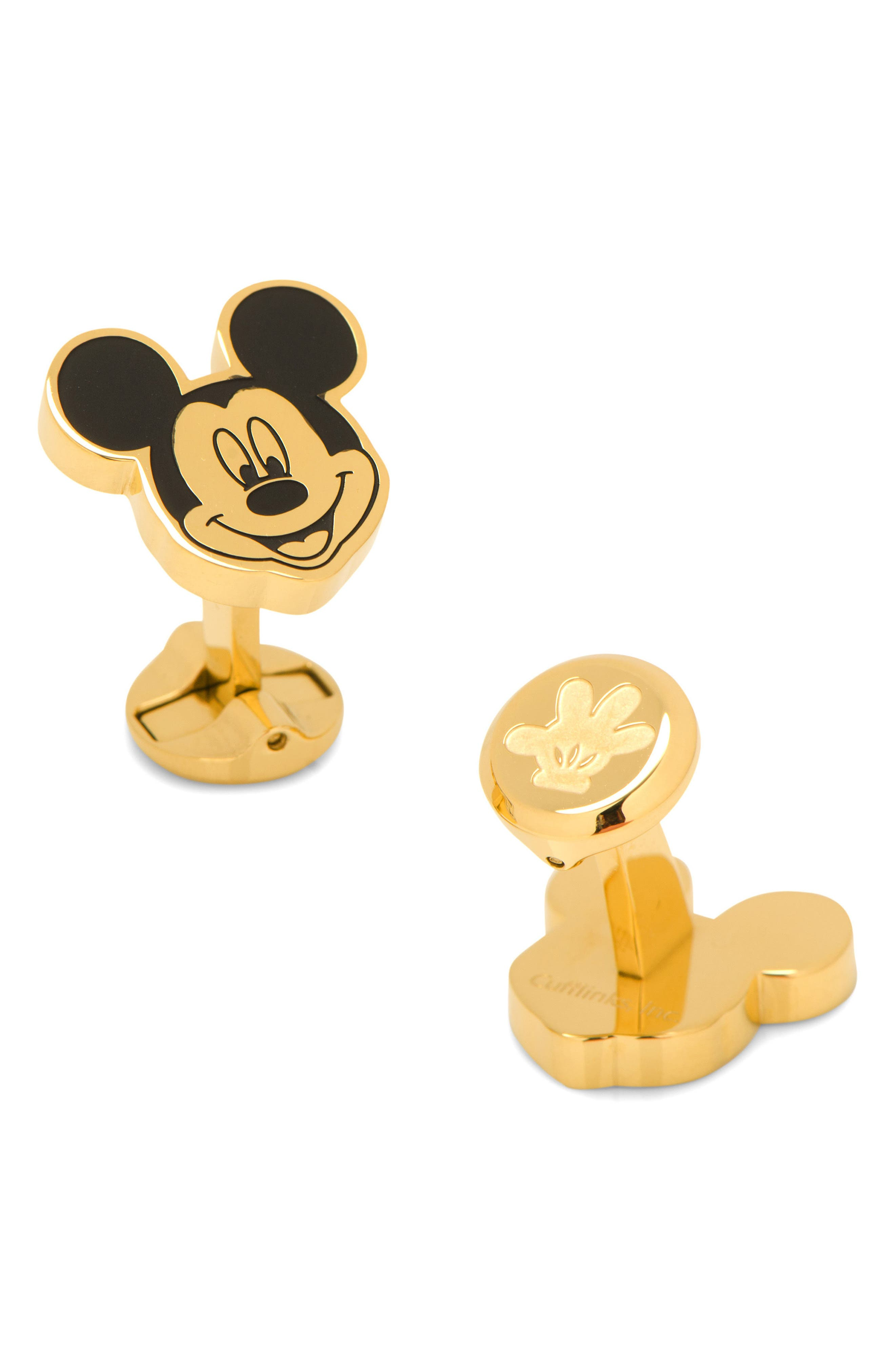 Disney Mickey Mouse Cuff Links,                             Main thumbnail 1, color,                             710