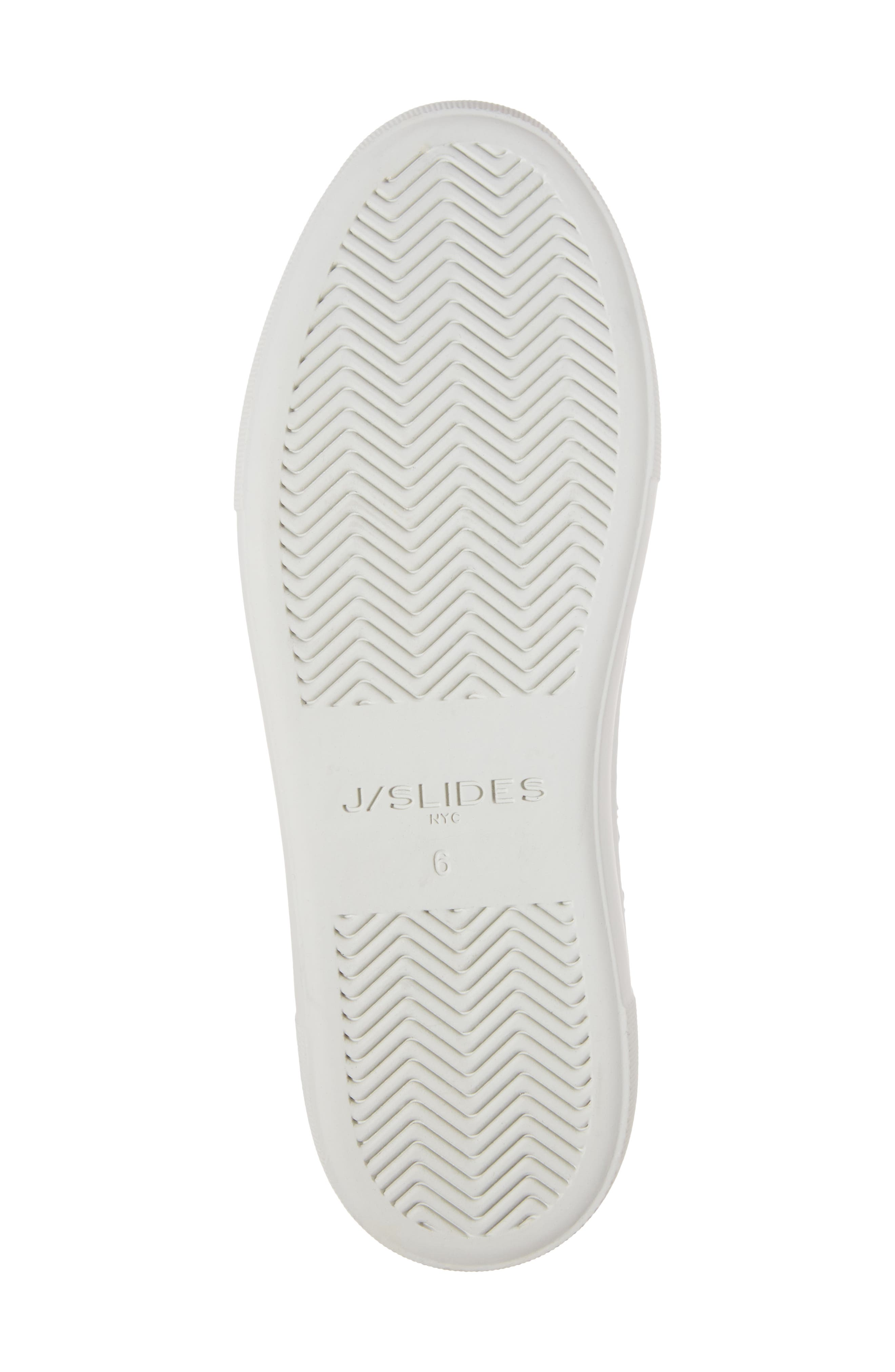 JSLIDES,                             Alexi Faux Fur Slip-On Sneaker,                             Alternate thumbnail 6, color,                             002