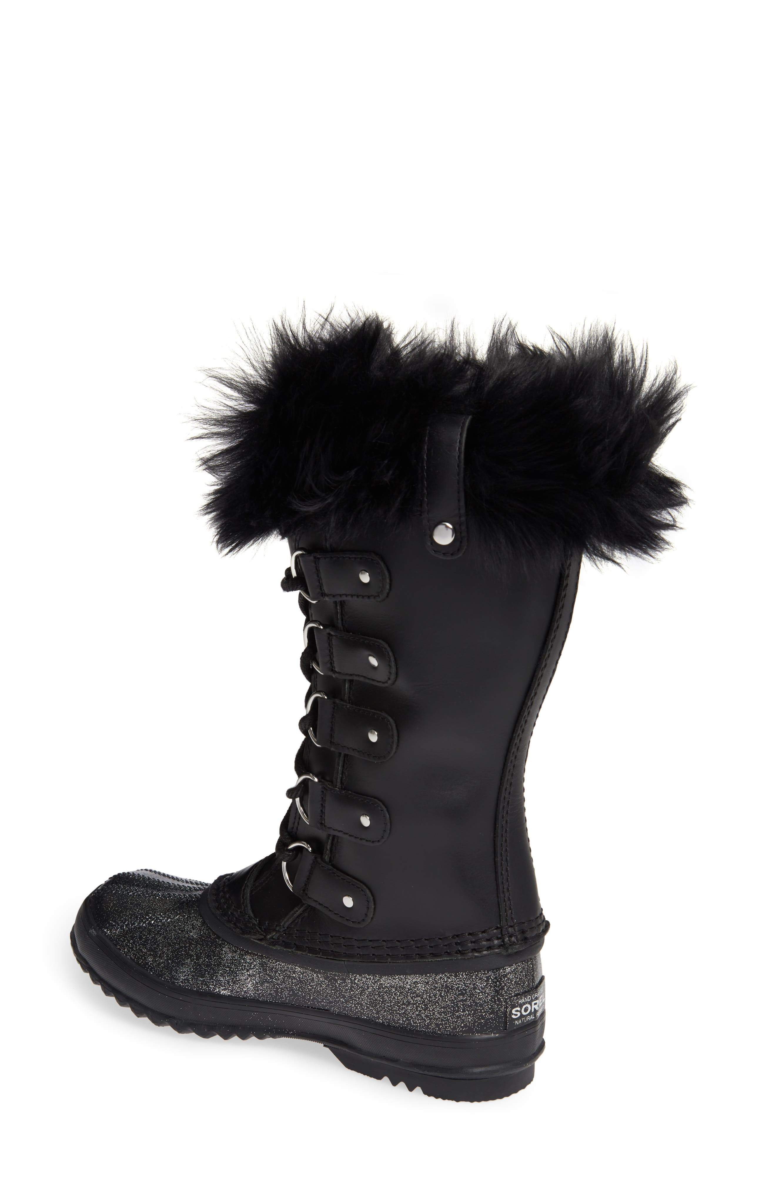 Joan of Arctic<sup>™</sup> Lux Waterproof Winter Boot with Genuine Shearling,                             Alternate thumbnail 2, color,                             010
