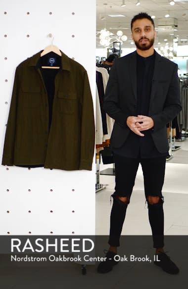 Lined Wool Blend Shirt Jacket, sales video thumbnail