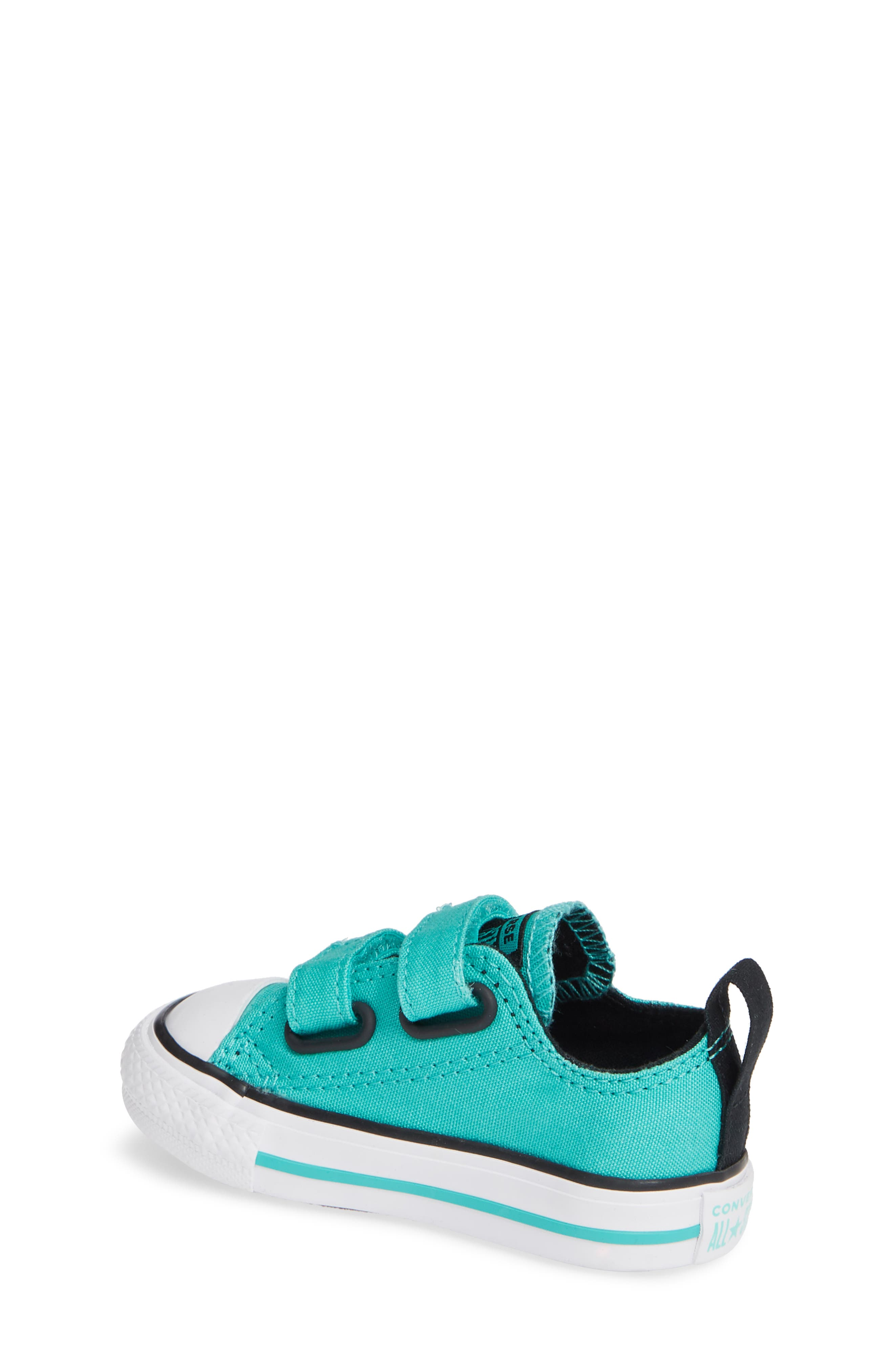 Chuck Taylor<sup>®</sup> 'Double Strap' Sneaker,                             Alternate thumbnail 2, color,                             PURE TEAL