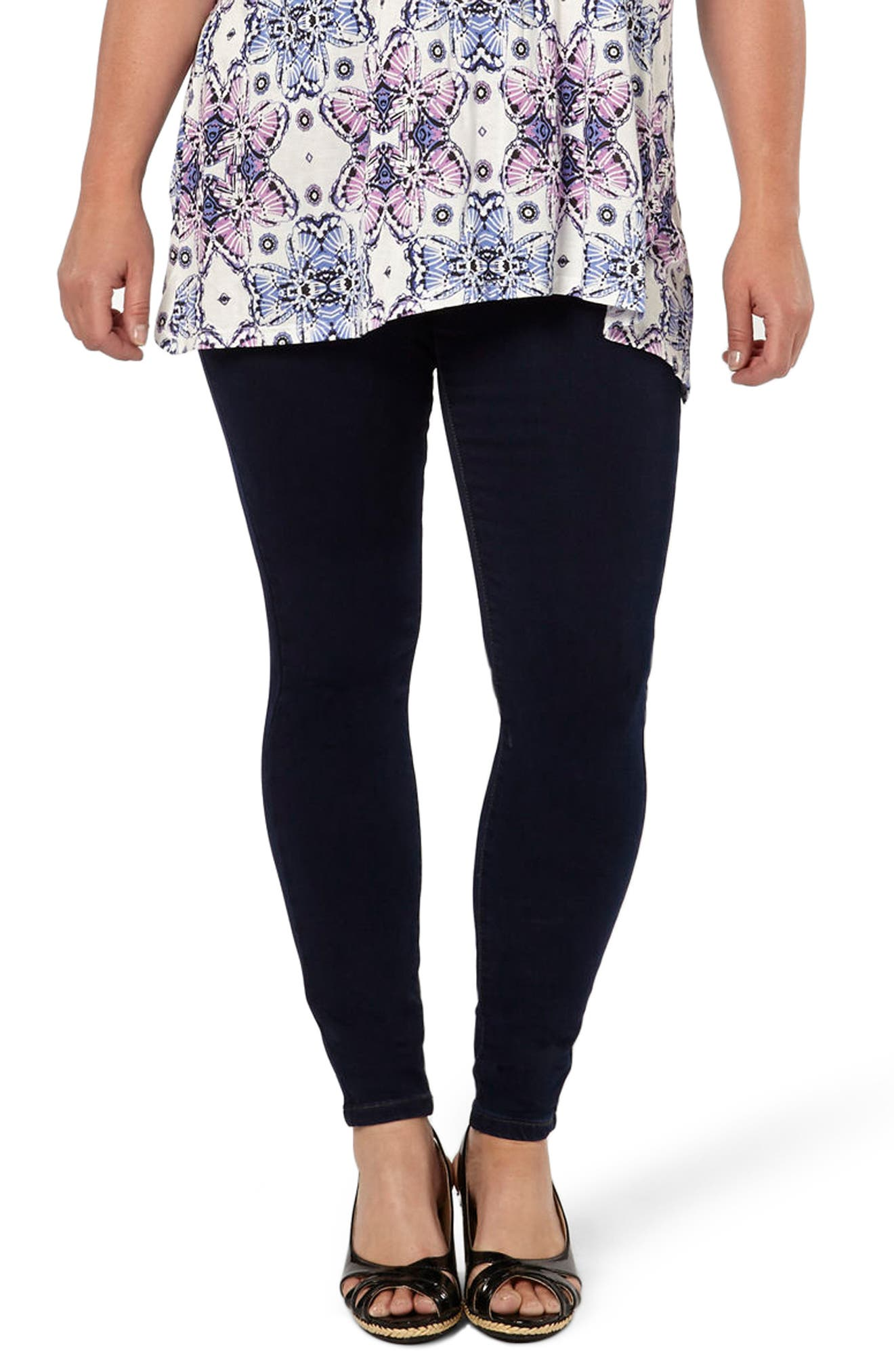 Stretch Skinny Jeans,                             Main thumbnail 1, color,                             400