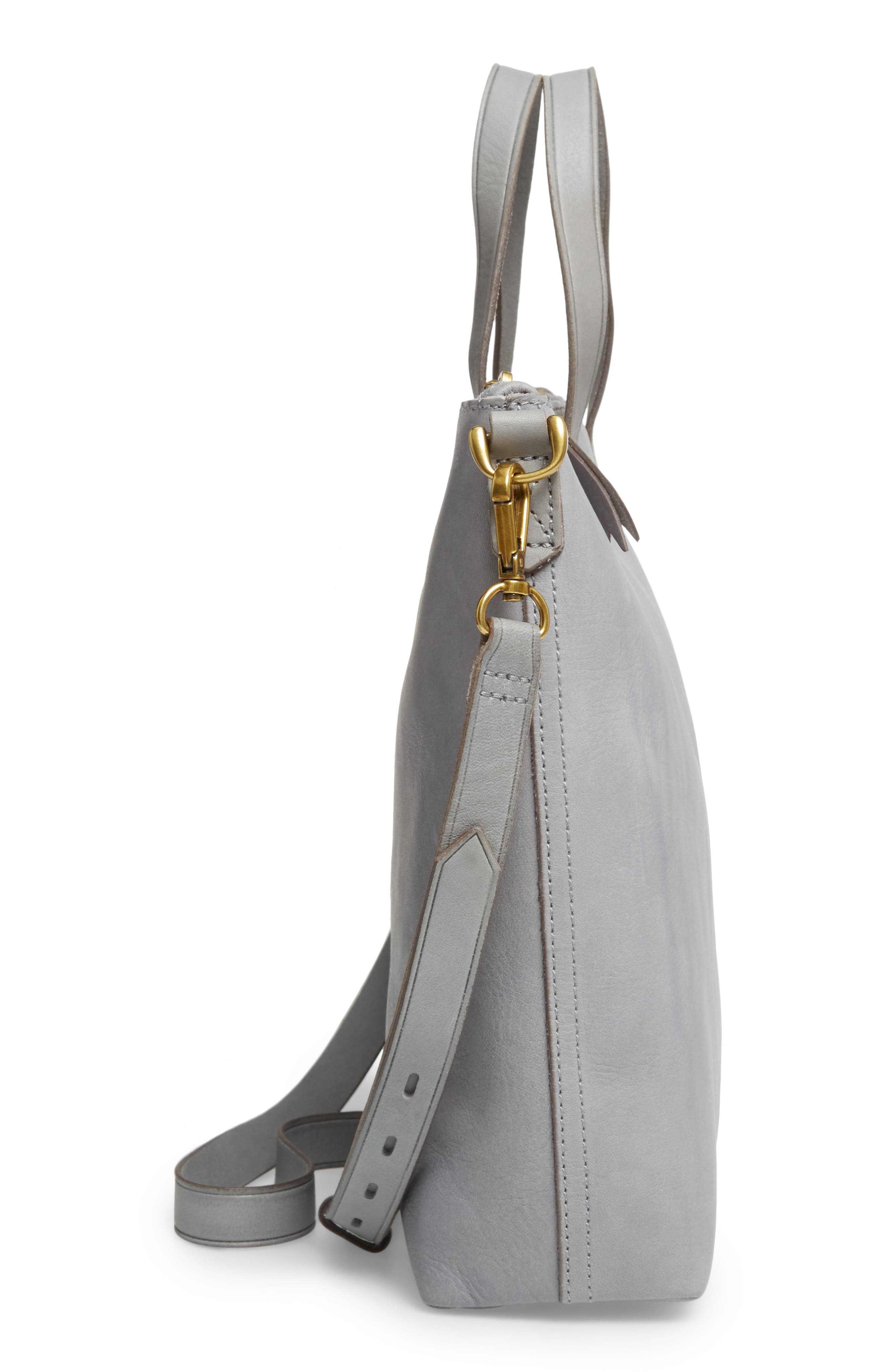 The Transport Leather Crossbody,                             Alternate thumbnail 5, color,                             021