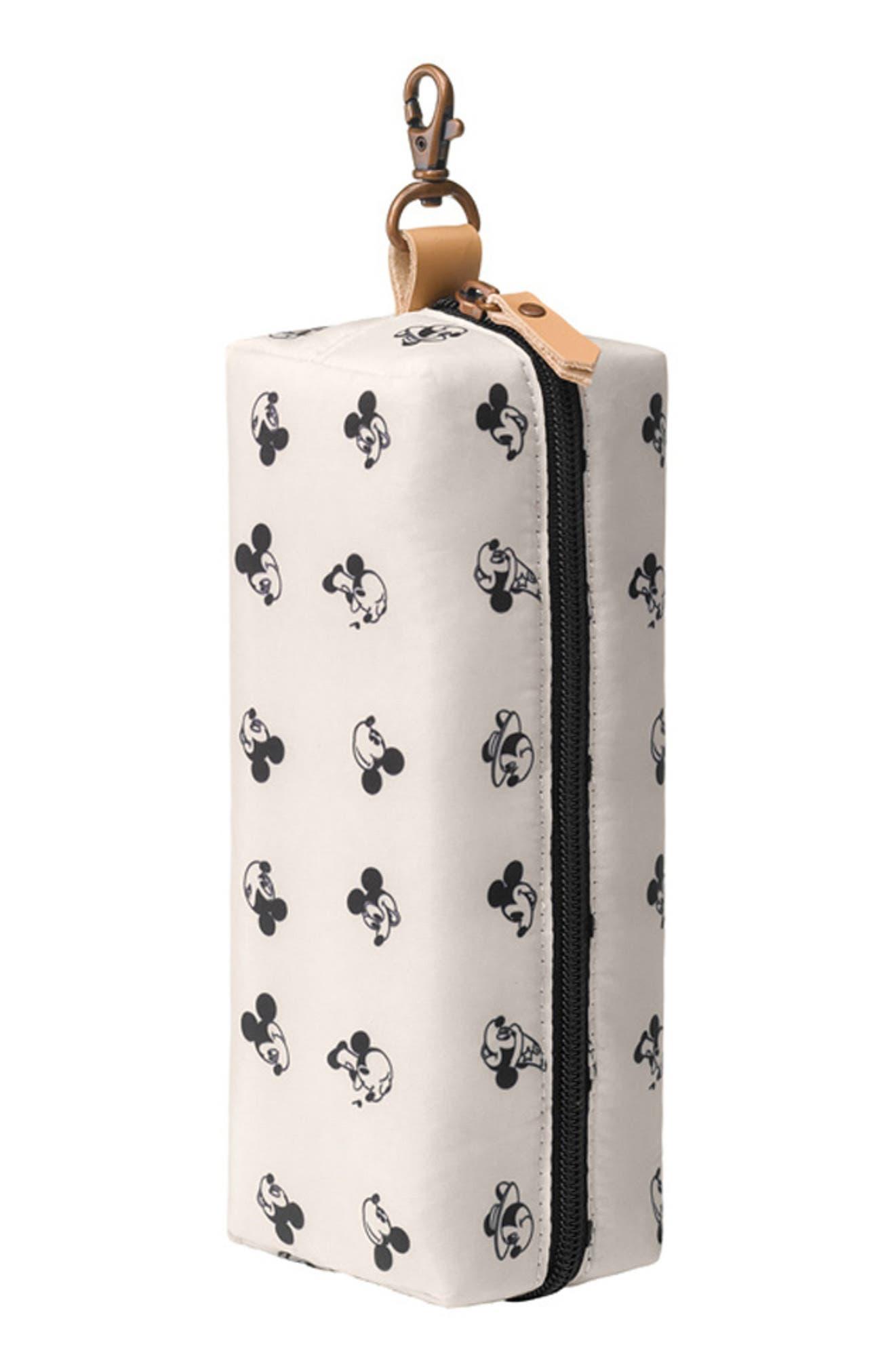 x Disney Mickey Mouse Bottle Butler Case,                         Main,                         color, BEIGE