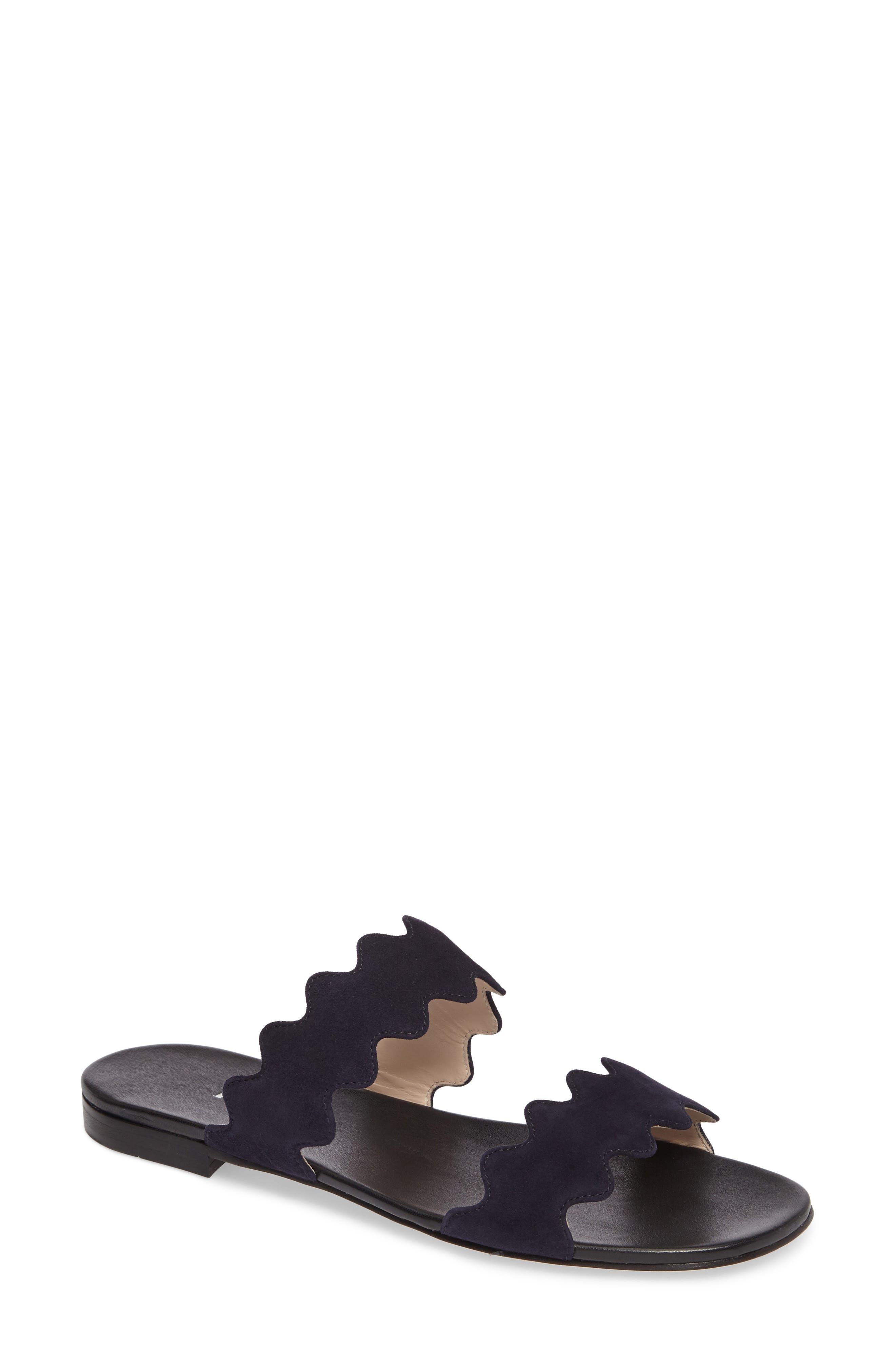 Double Strap Wave Sandal,                         Main,                         color, 400