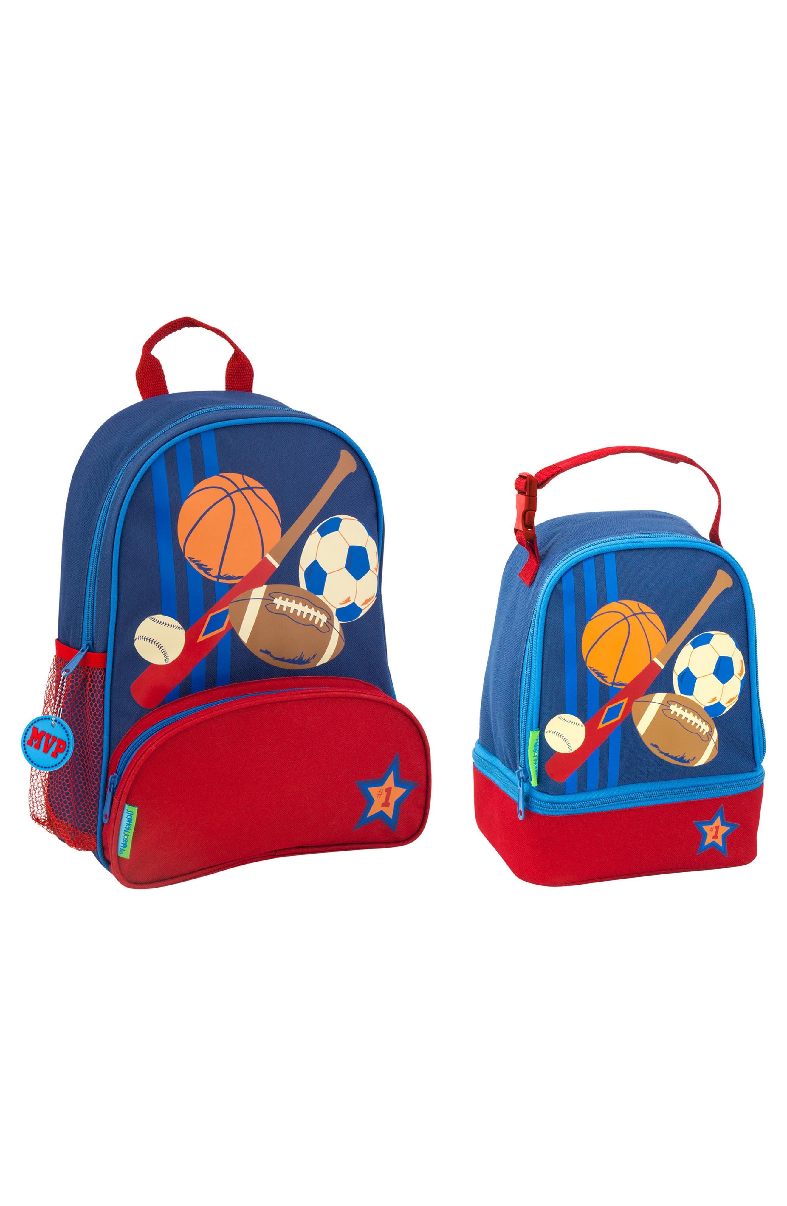 Sports Sidekick Backpack & Lunch Pal, Main, color, SPORTS