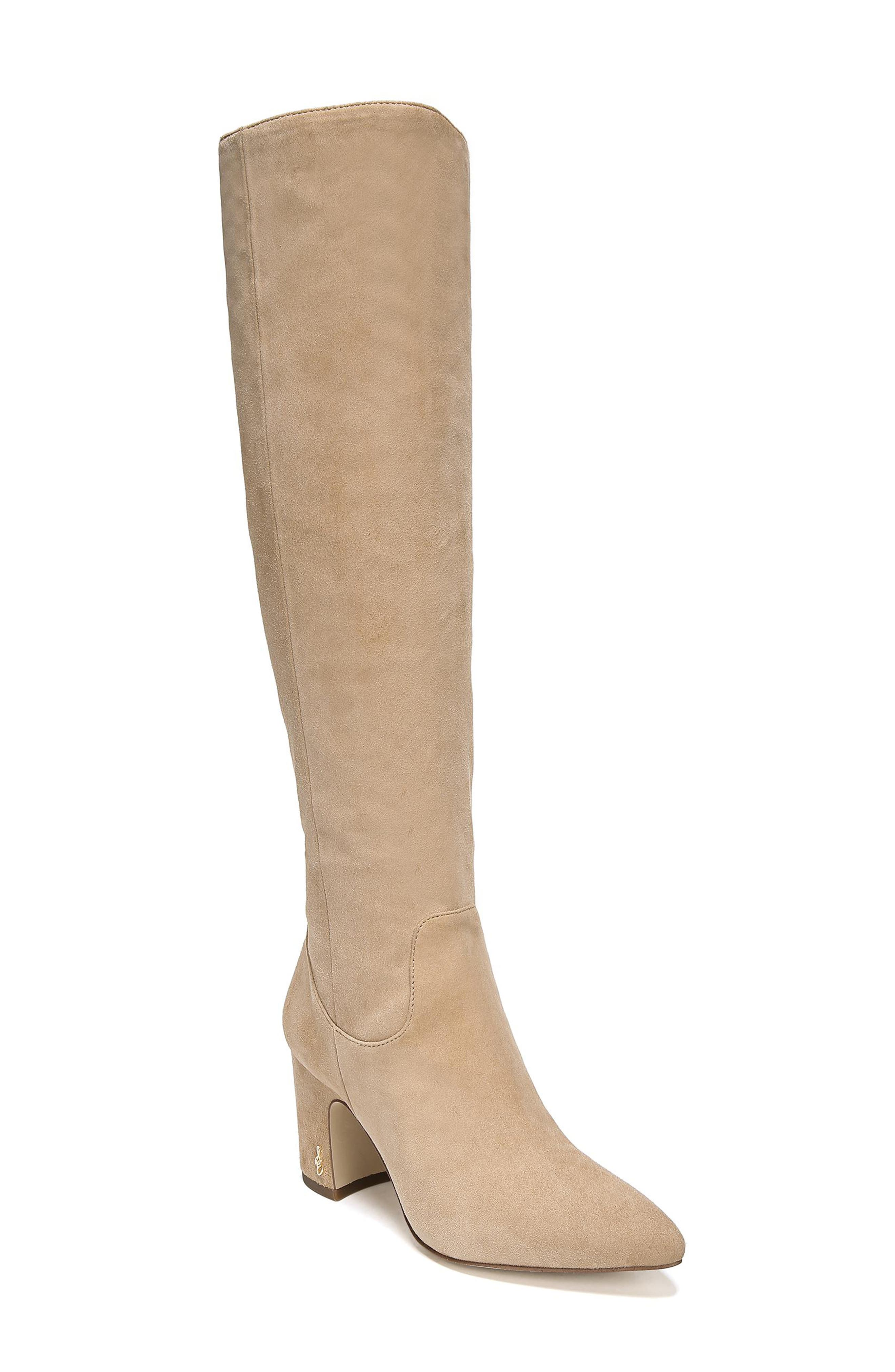 Sam Edelman Hai Knee High Boot, Beige