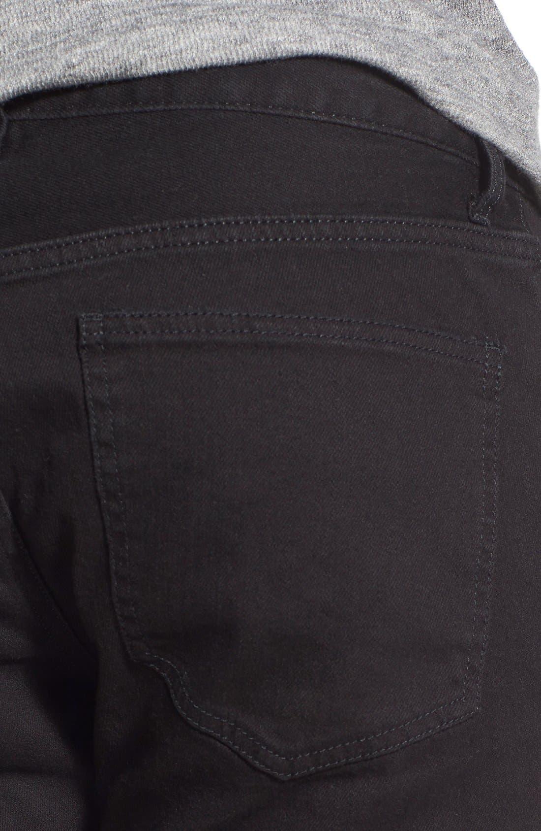 Skinny Fit Jeans,                             Alternate thumbnail 5, color,                             001