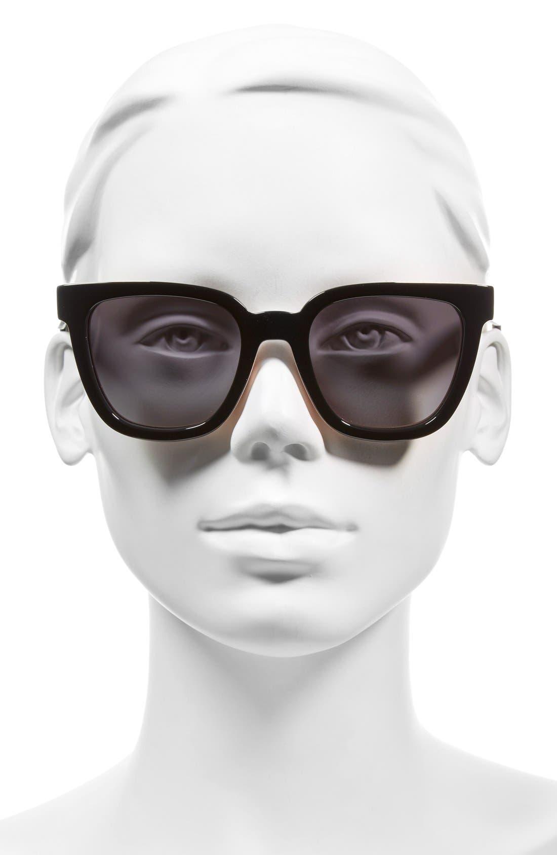 51mm Sunglasses,                             Alternate thumbnail 4, color,                             001