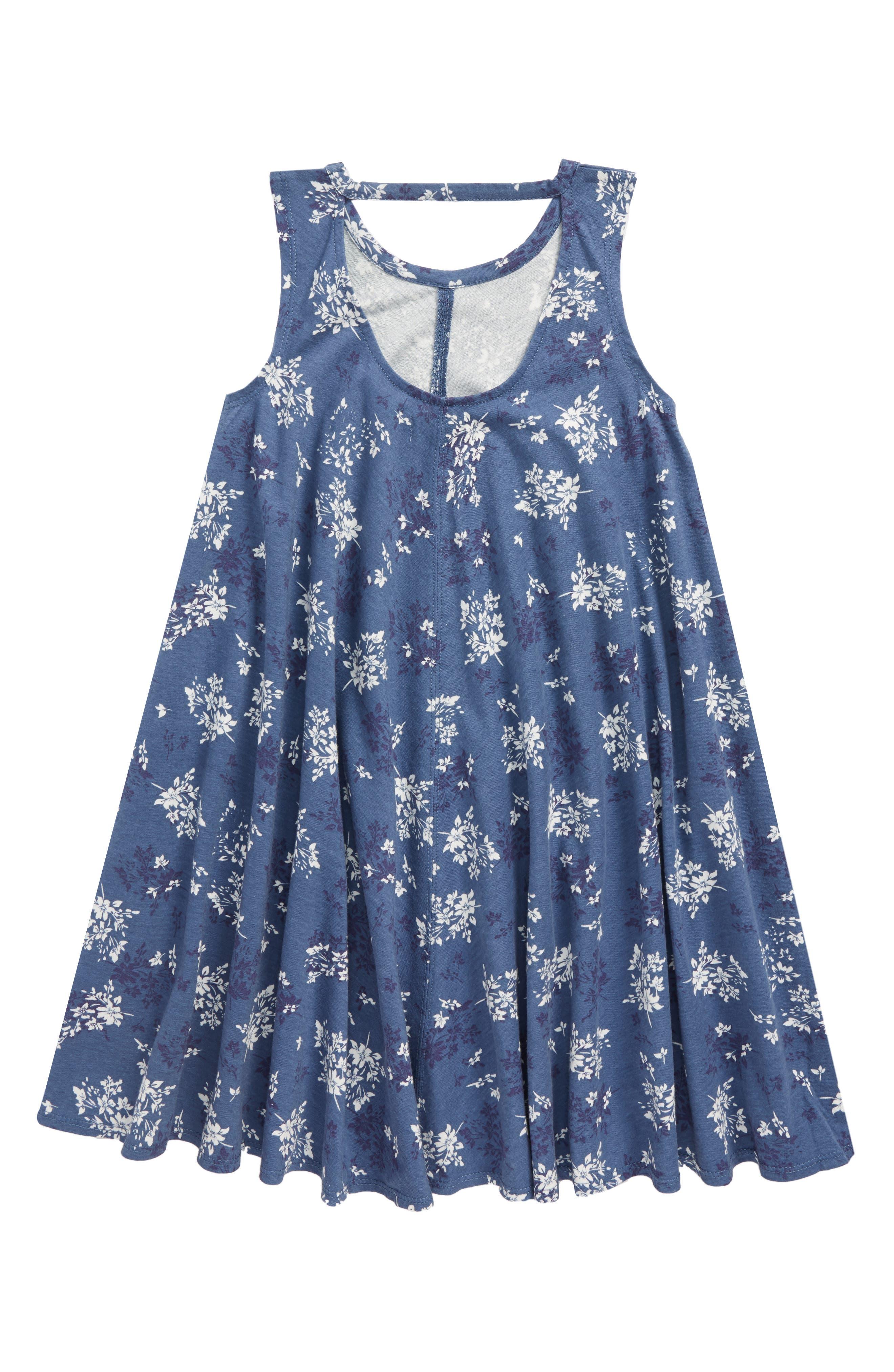 Cotton Swing Dress,                             Alternate thumbnail 2, color,                             420