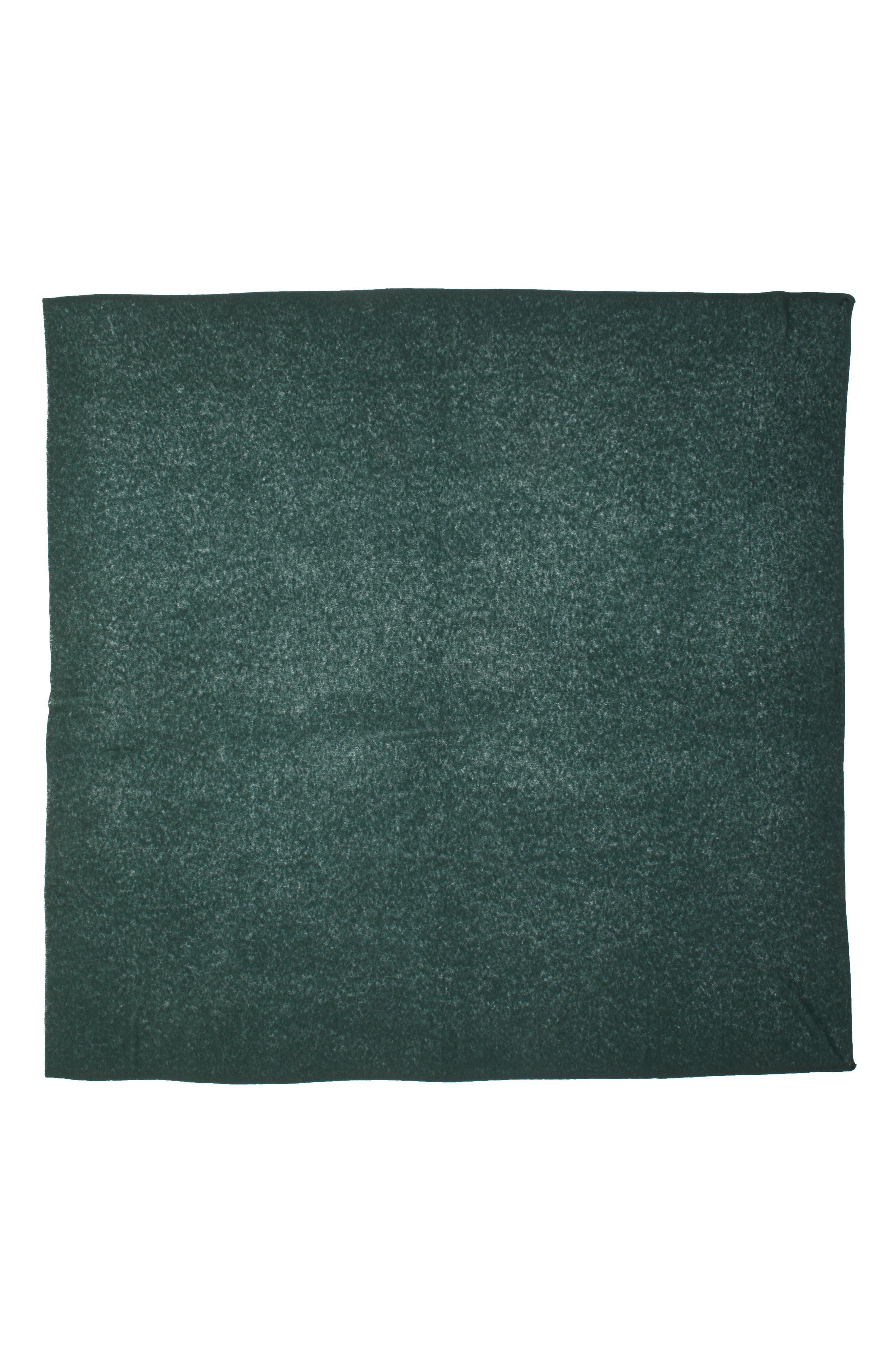 Cashmere Scarf,                             Alternate thumbnail 3, color,                             GREEN PONDEROSA