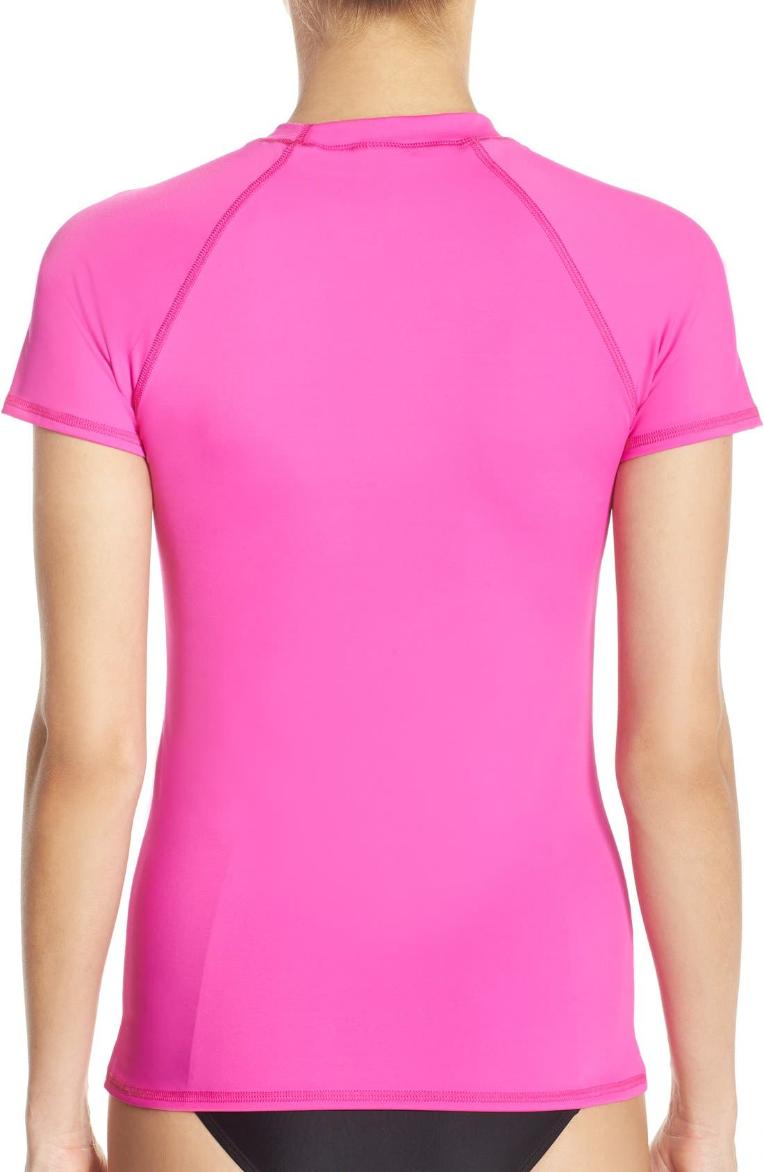 'Smoothies in Motion' Short Sleeve Rashguard,                             Alternate thumbnail 11, color,