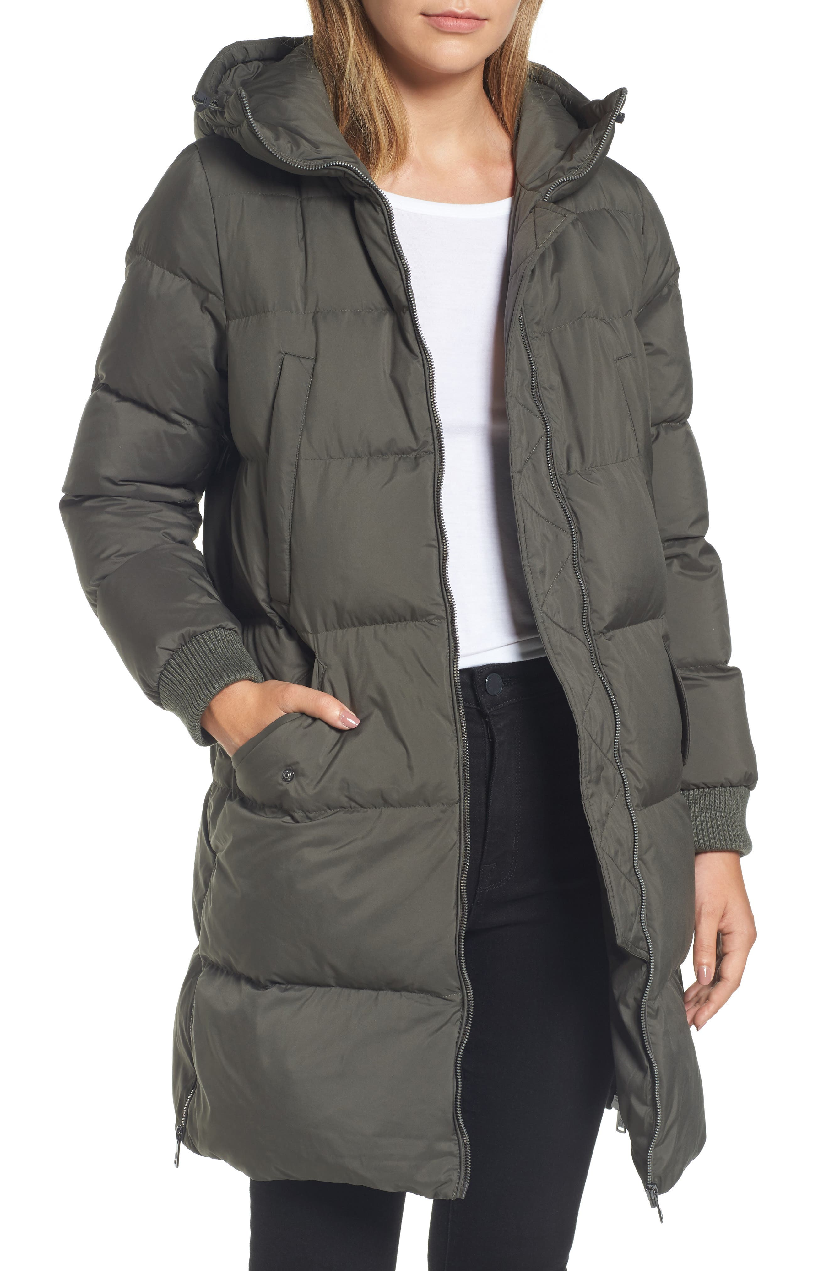 Quilted Down Jacket,                             Main thumbnail 1, color,                             311