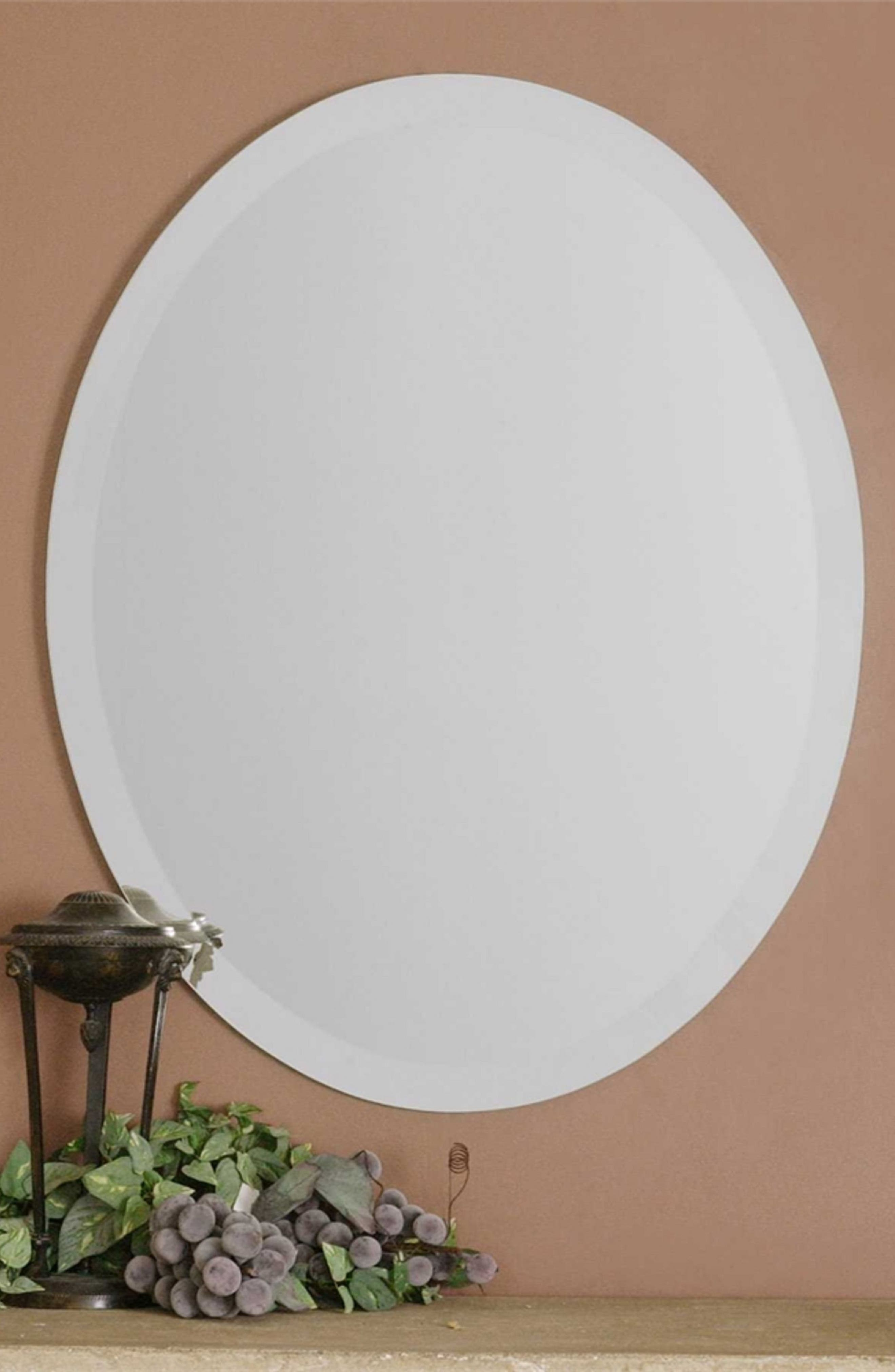 Oval Mirror,                             Alternate thumbnail 2, color,