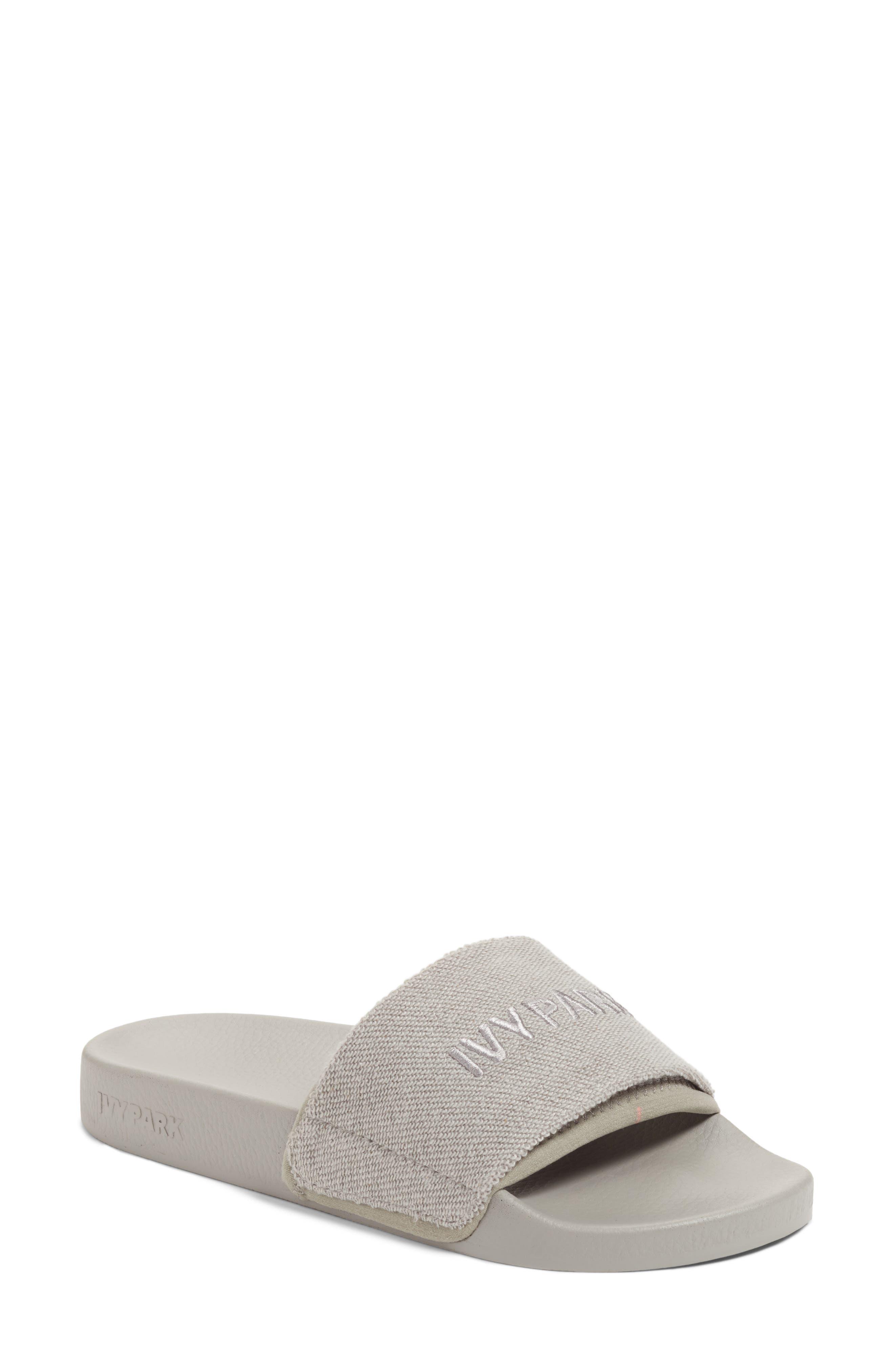 Reverse Loopback Slide Sandal,                         Main,                         color, 020