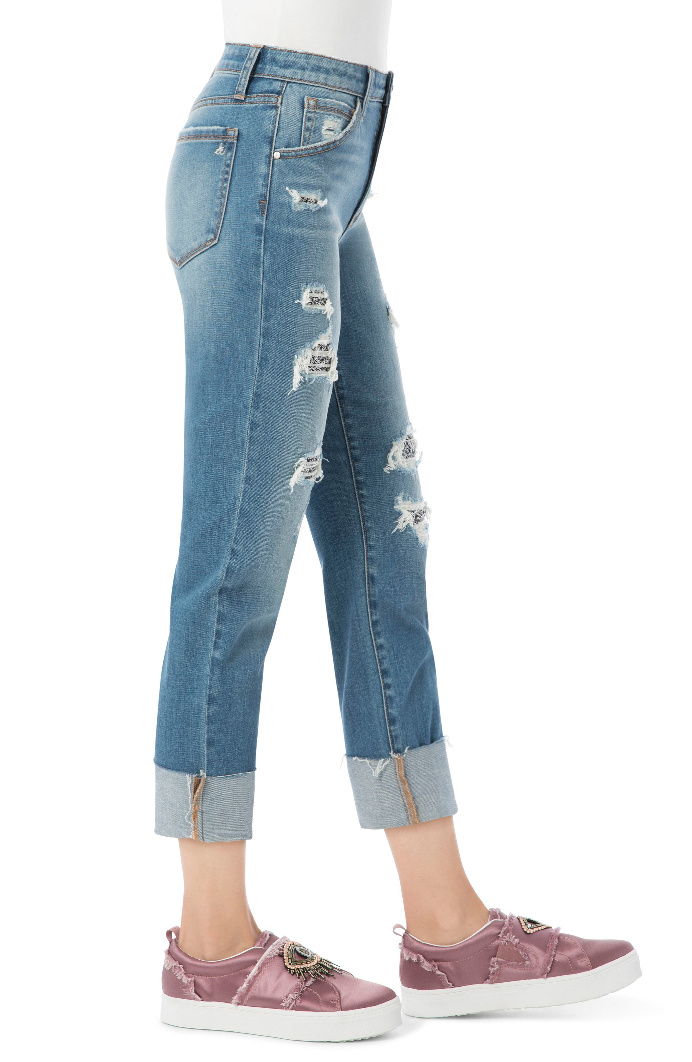 The Mary Jane High Rise Jean,                             Alternate thumbnail 3, color,                             419