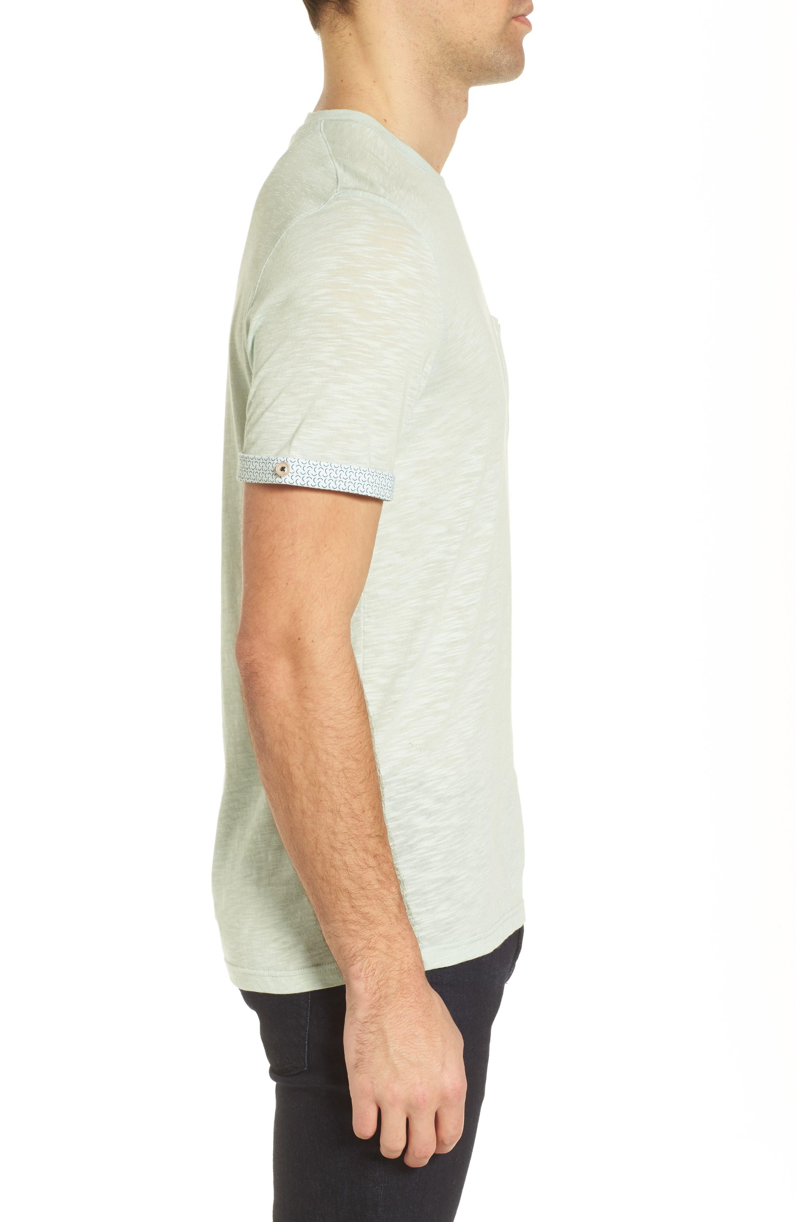 Taxi Slub Cotton Pocket T-Shirt,                             Alternate thumbnail 3, color,                             339