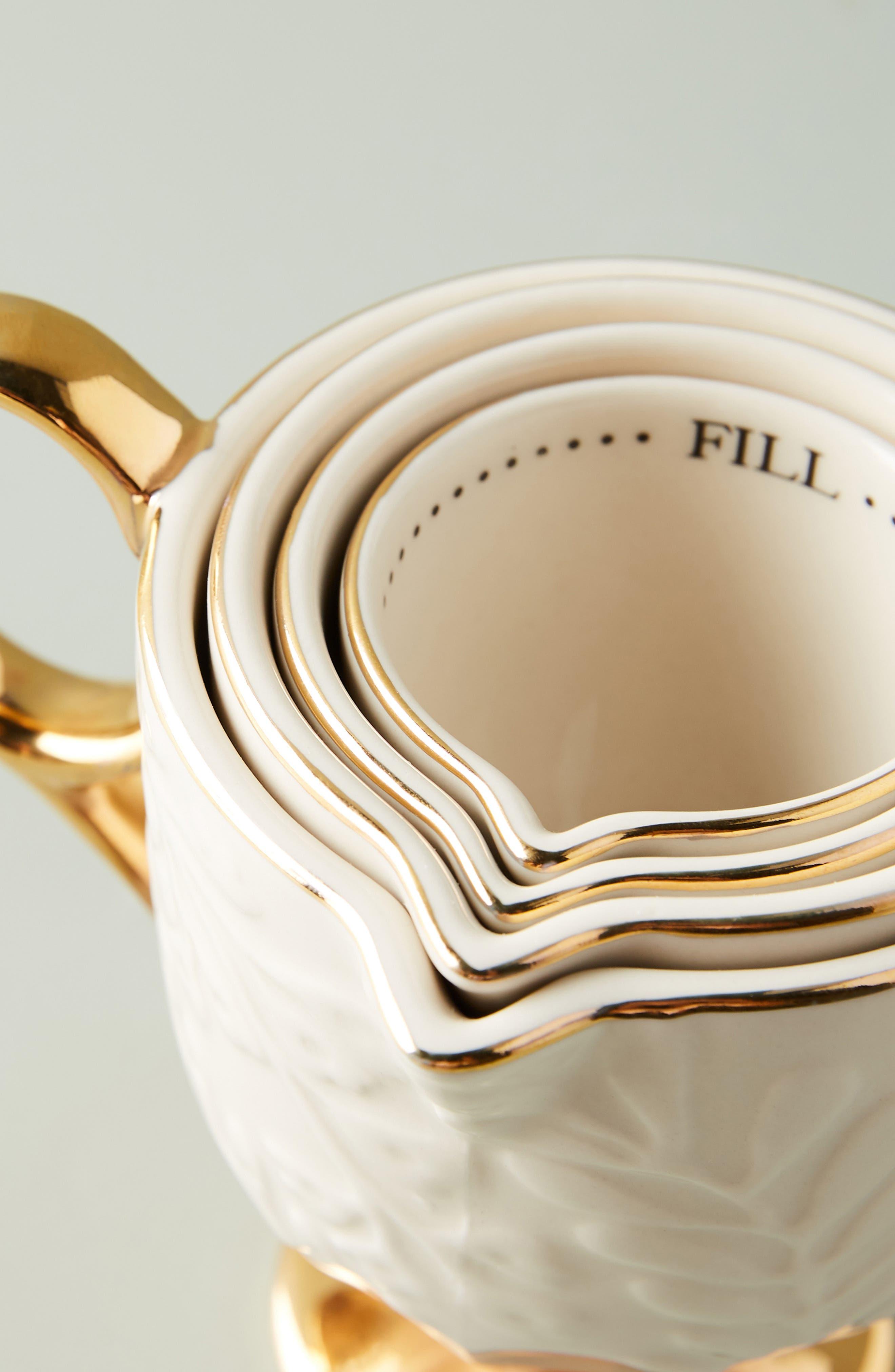 Dorina Set of 4 Measuring Cups,                             Alternate thumbnail 2, color,                             710