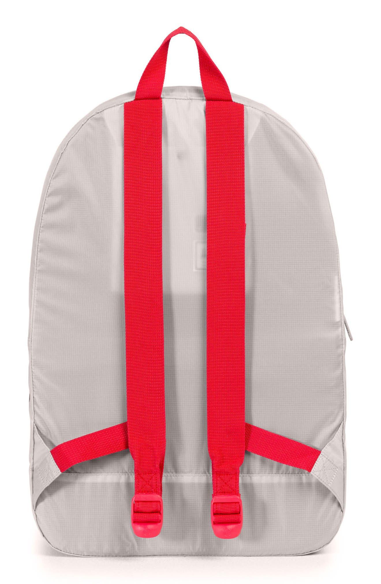 Packable - MLB National League Backpack,                             Alternate thumbnail 2, color,                             CINCINNATI REDS