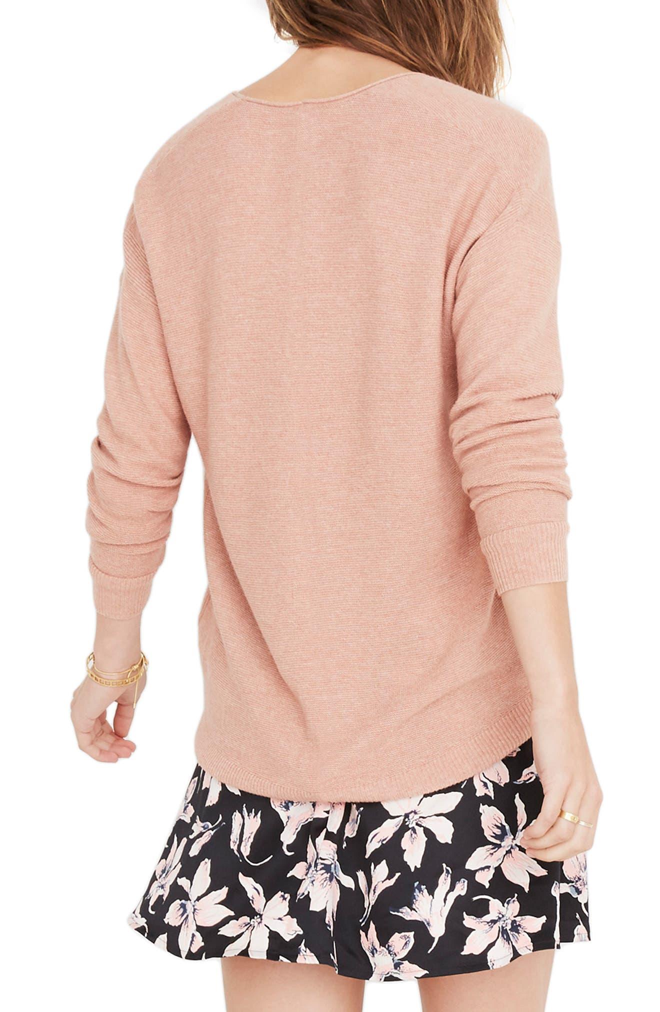 Kimball Sweater,                             Alternate thumbnail 2, color,                             HEATHER ROSE