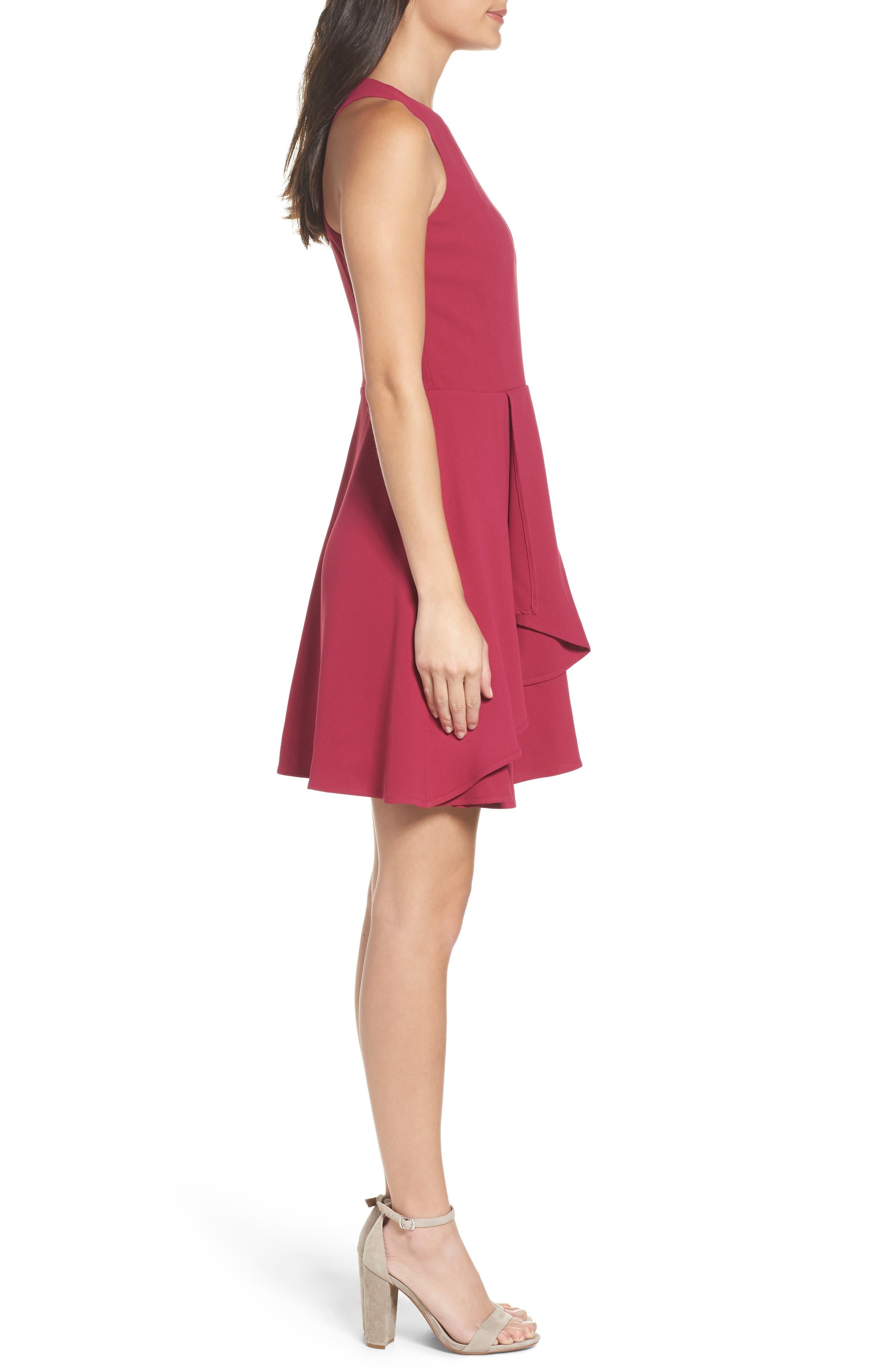 Athena Fit & Flare Dress,                             Alternate thumbnail 10, color,