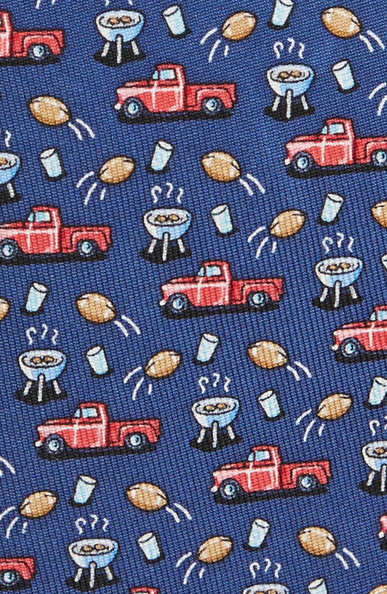 Tailgate Silk Tie,                             Alternate thumbnail 2, color,                             410