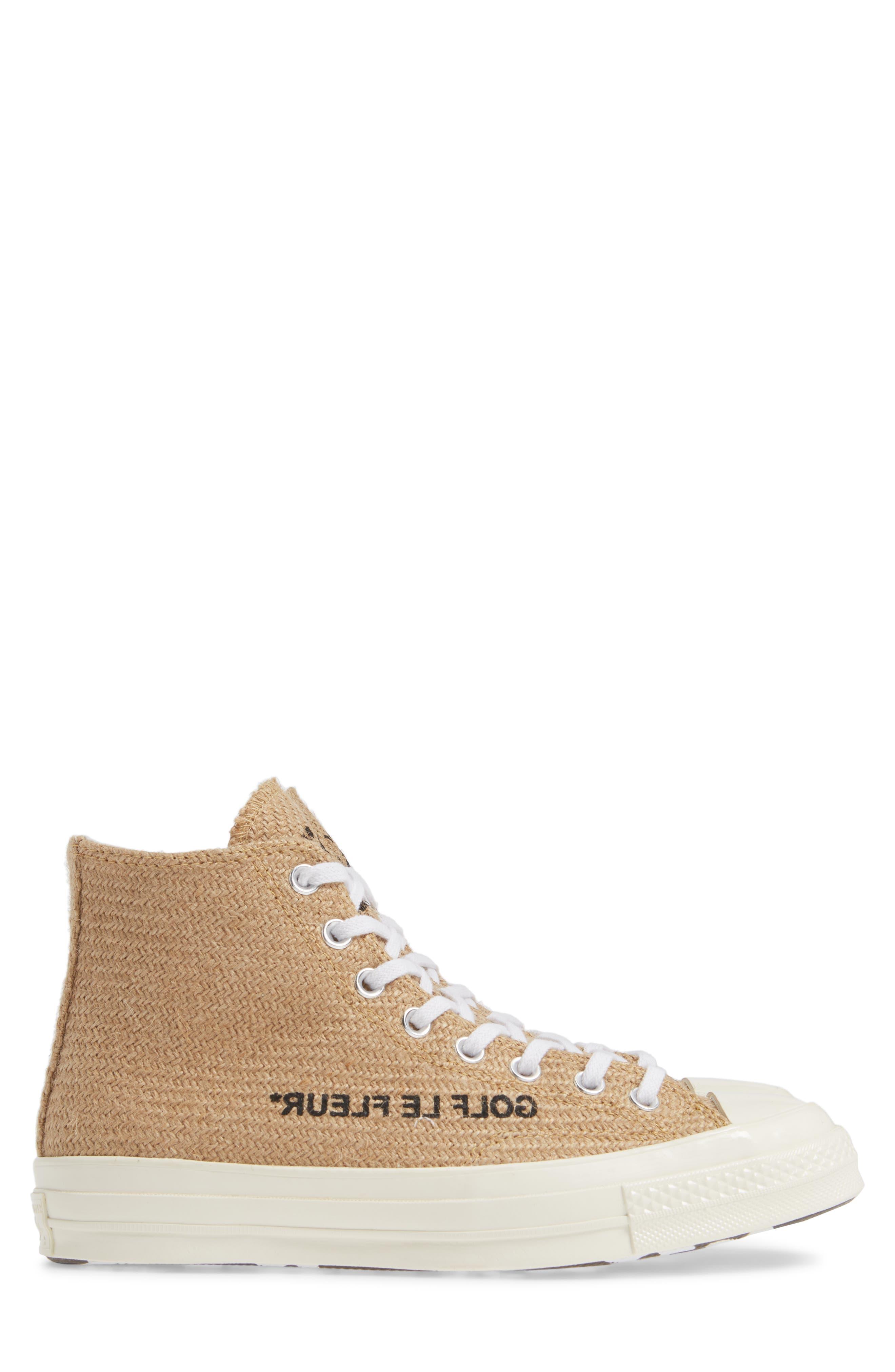 x GOLF le FLEUR* Chuck 70 High Top Sneaker,                             Alternate thumbnail 3, color,                             209