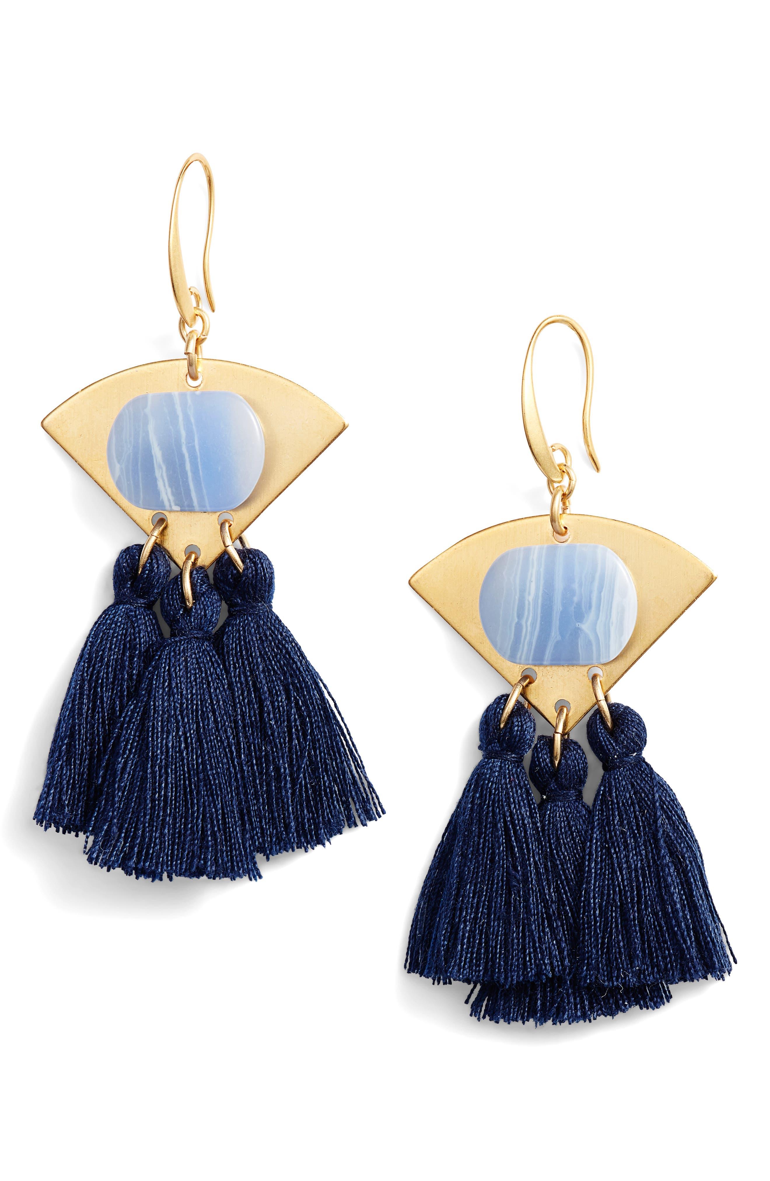 3-Tassel Earrings,                         Main,                         color,