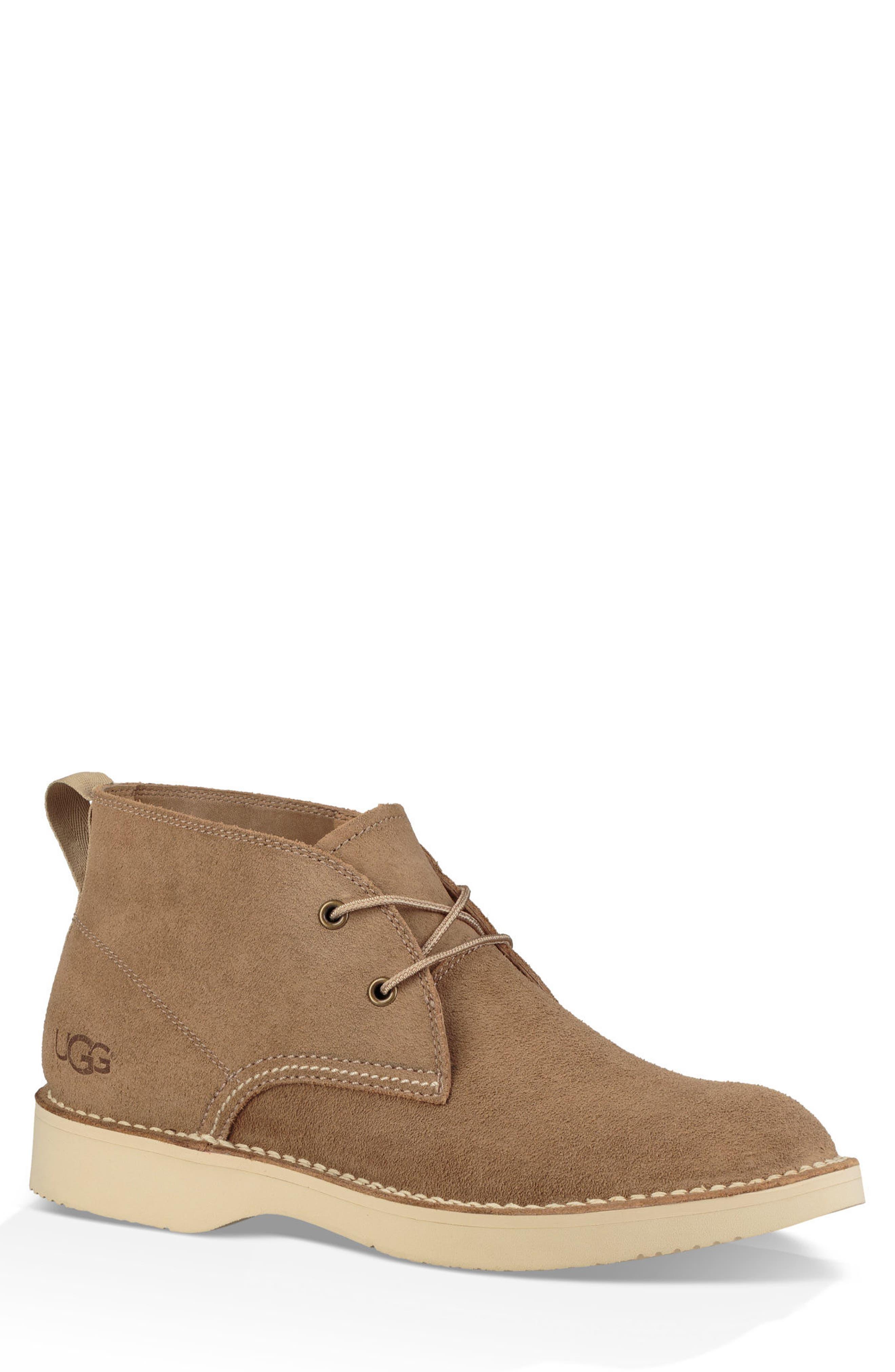 Camino Water Resistant Chukka Boot,                         Main,                         color, DESERT TAN