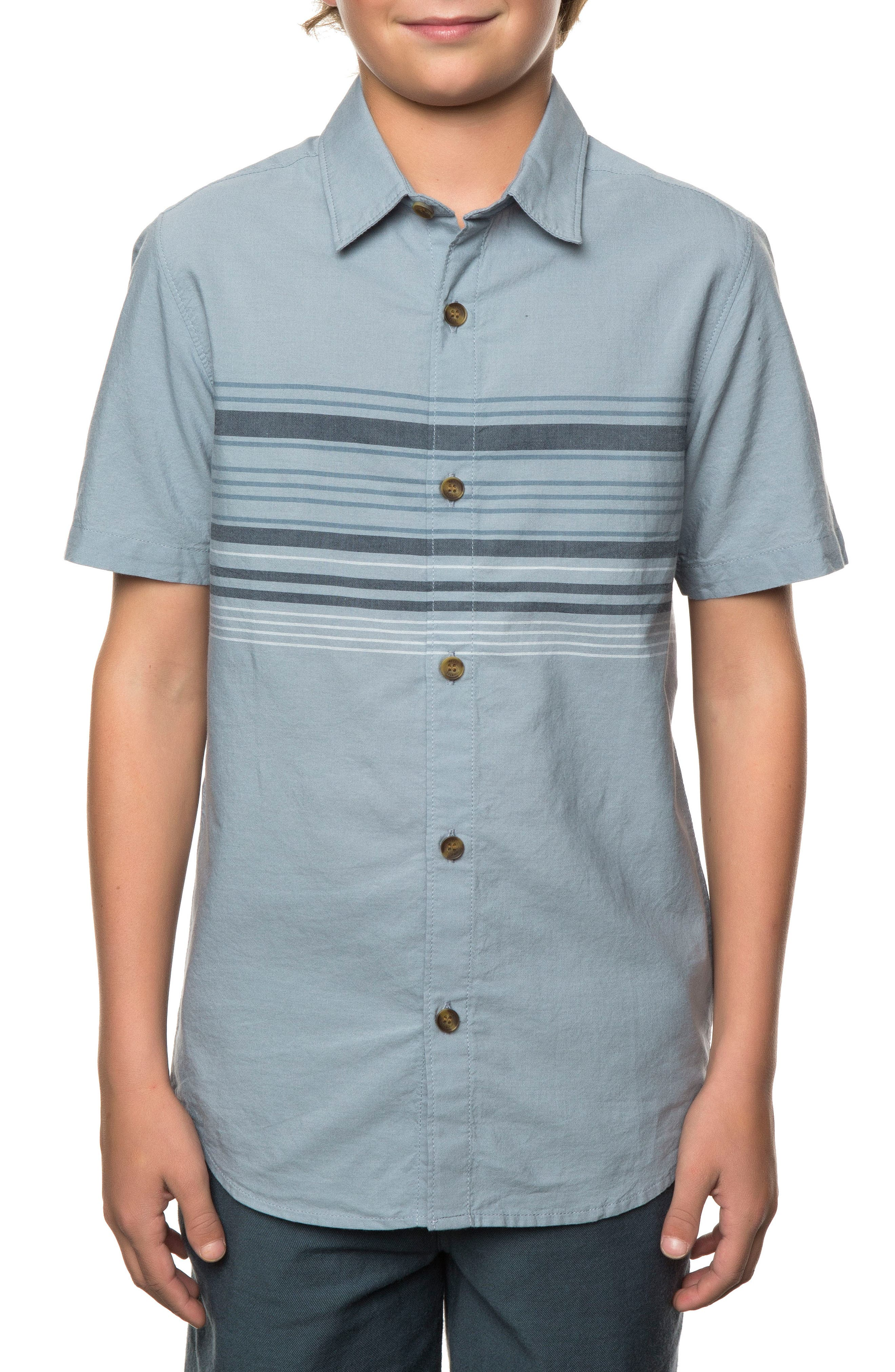 Serf Striped Woven Shirt,                             Alternate thumbnail 7, color,